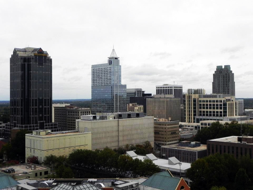 North Carolina Skyline