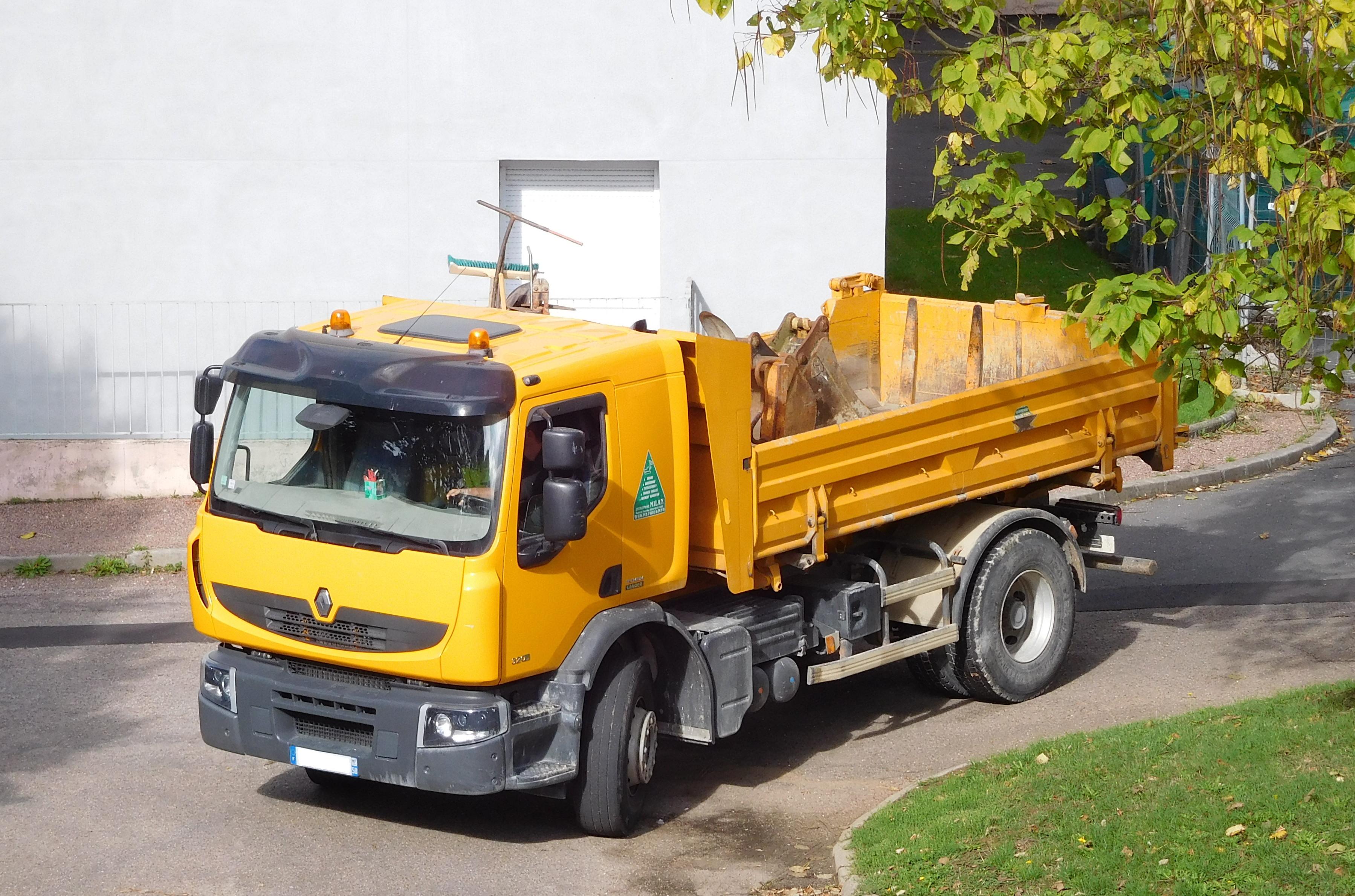 Moteur Camion Benne Mercedes