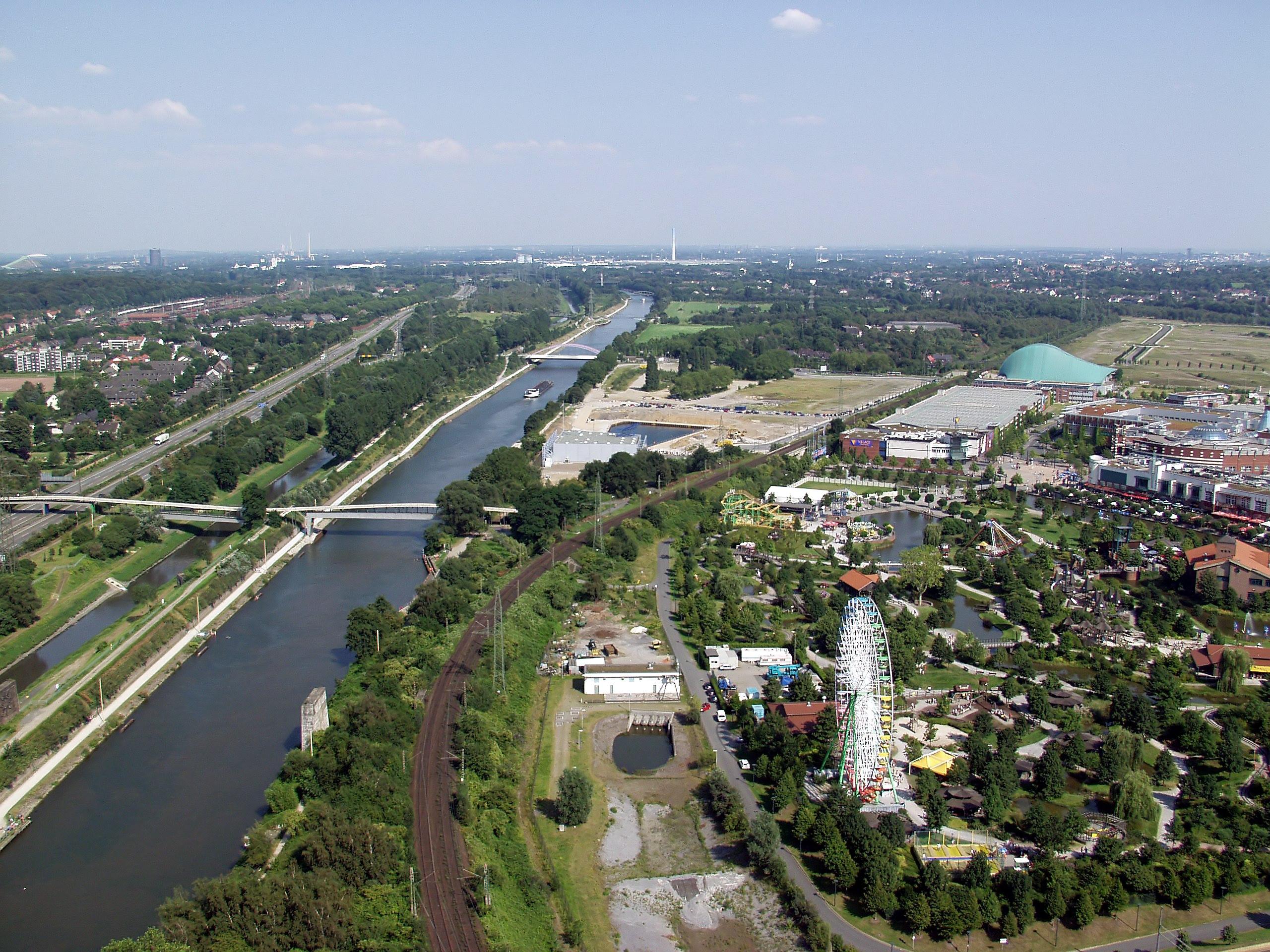 Oberhausen Germany  city pictures gallery : Datei:Rhein Herne Kanal bei Oberhausen – Wikipedia