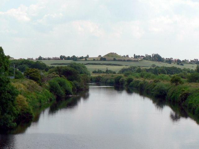 River Calder from Calder Bridge, Wakefield - geograph.org.uk - 197300
