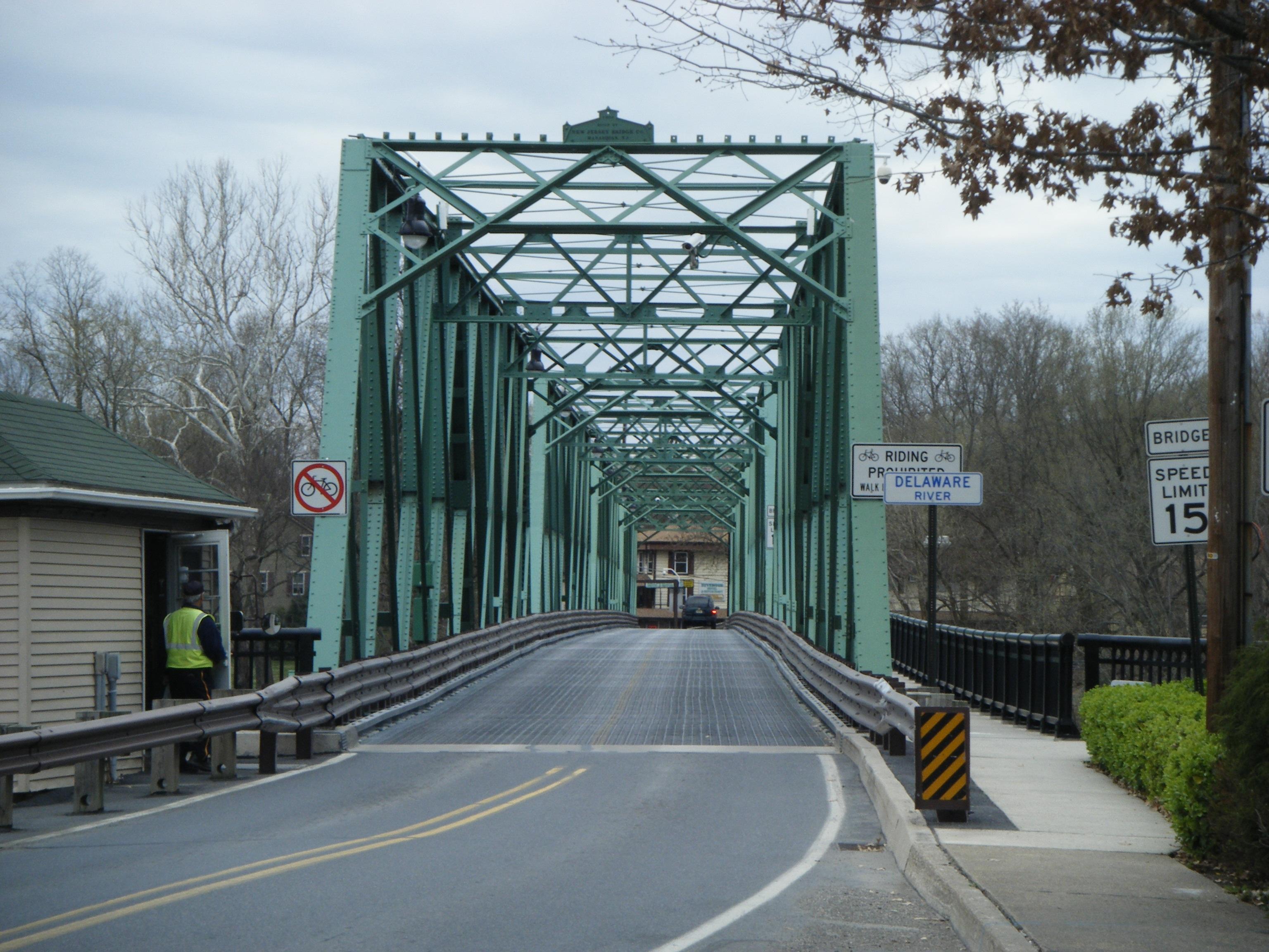 Riverton belvidere bridge for The riverton
