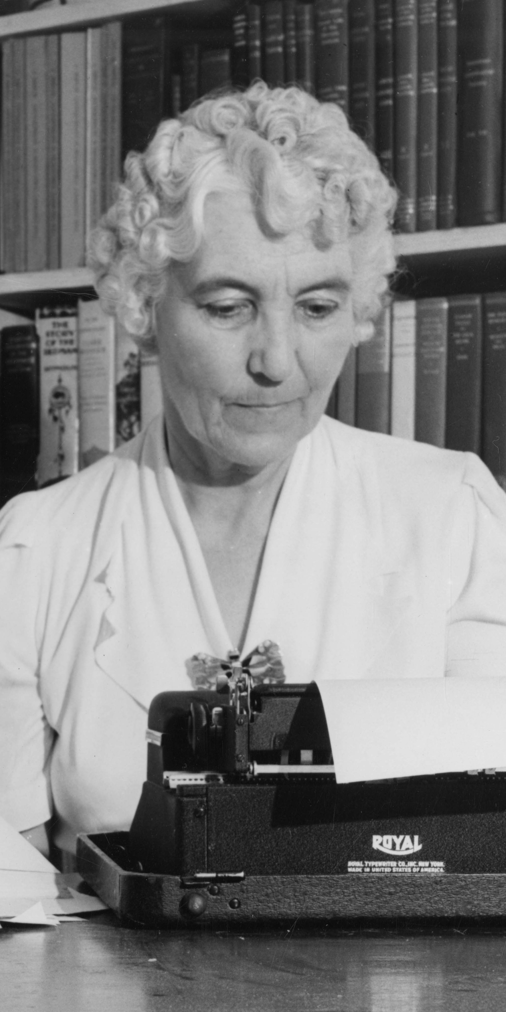 Ruth Underhill photographed in June 1941