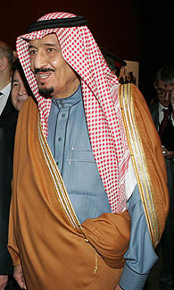 Salman bin Abdulaziz, member of the Saudi roya...