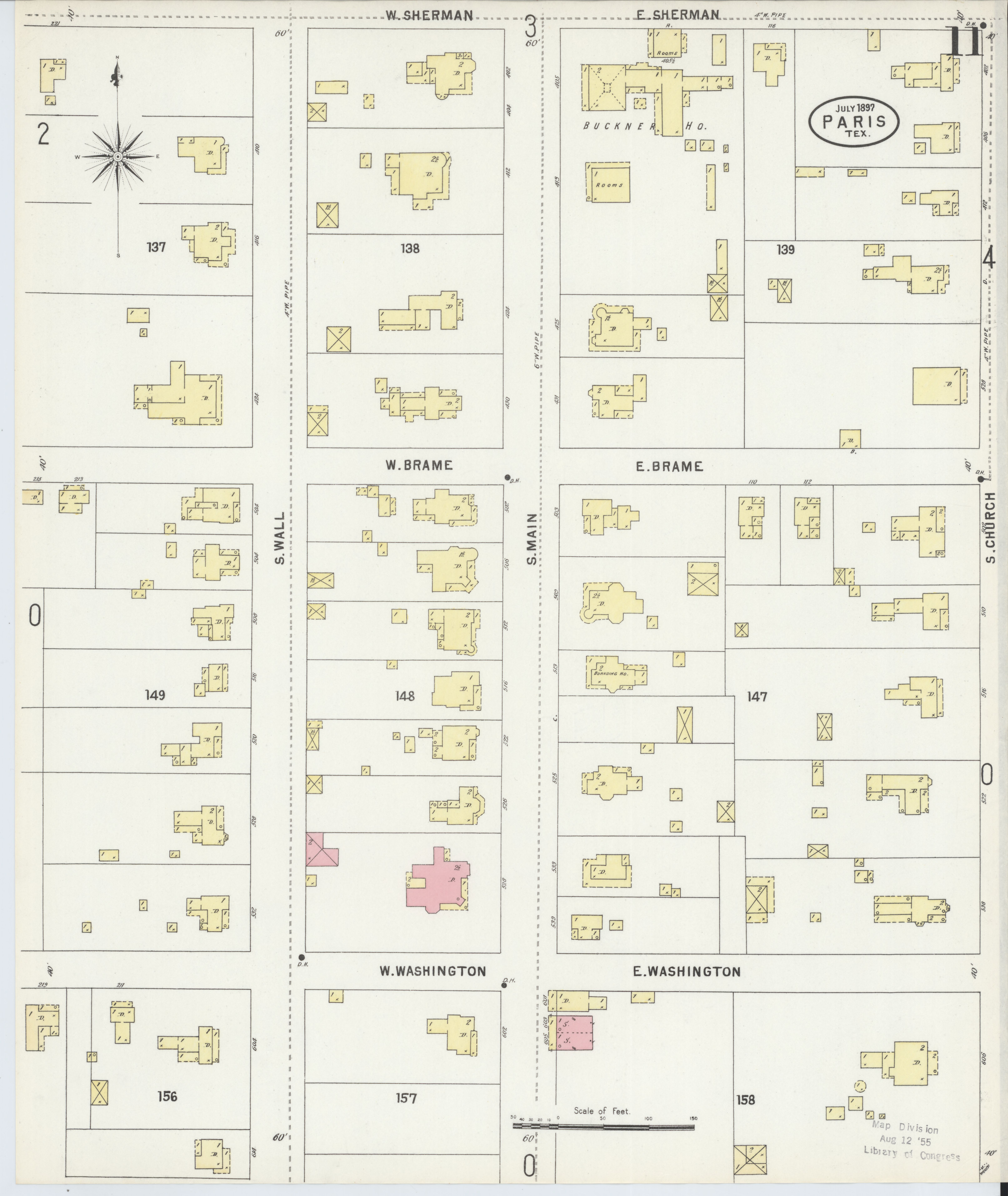 File:Sanborn Fire Insurance Map from Paris, Lamar County ...