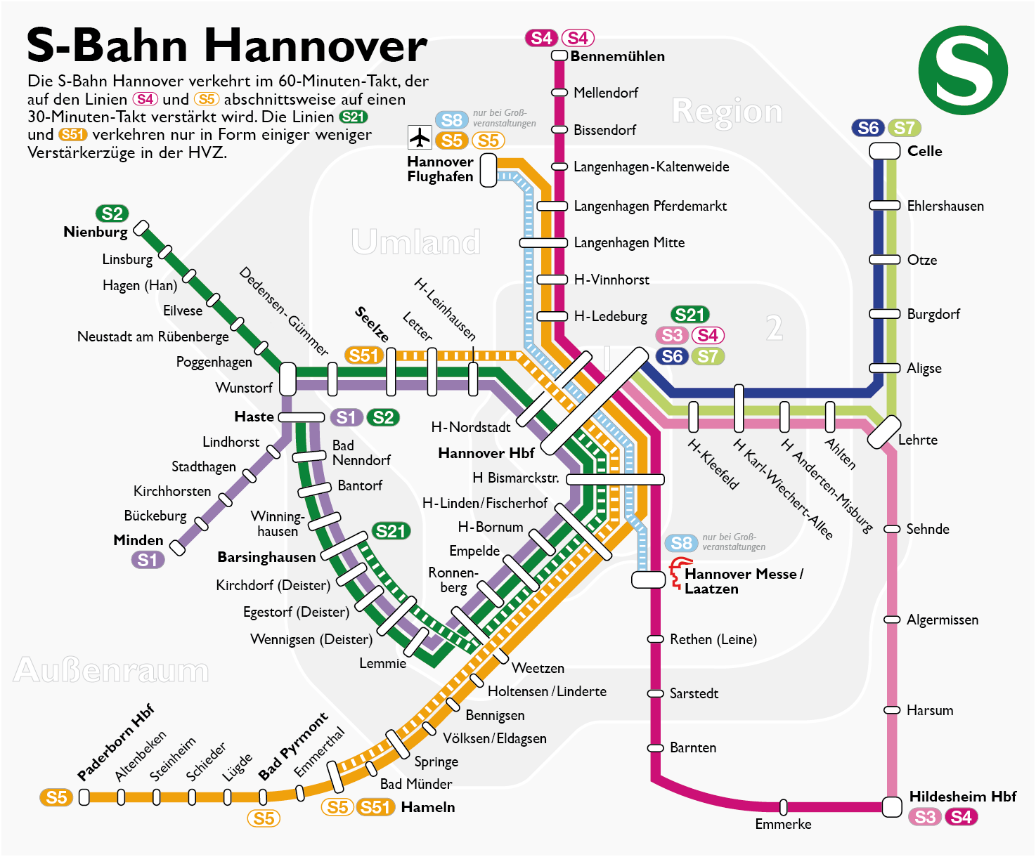 s bahn hannover wikiwand. Black Bedroom Furniture Sets. Home Design Ideas