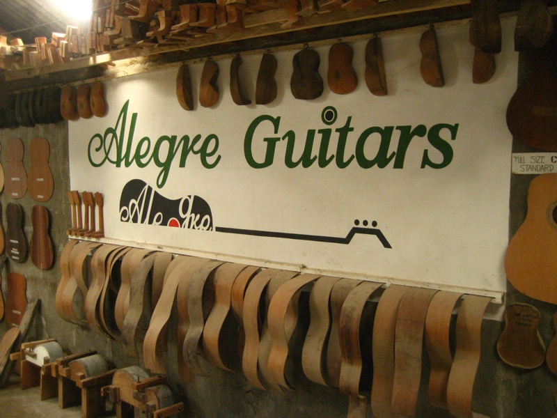 Alegre Guitar Factory in Mactan Island