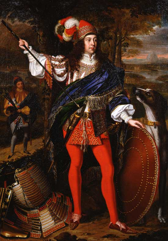 Portrait Sir Neil O'Neill of John Michael Wright (1680), now in the Tate