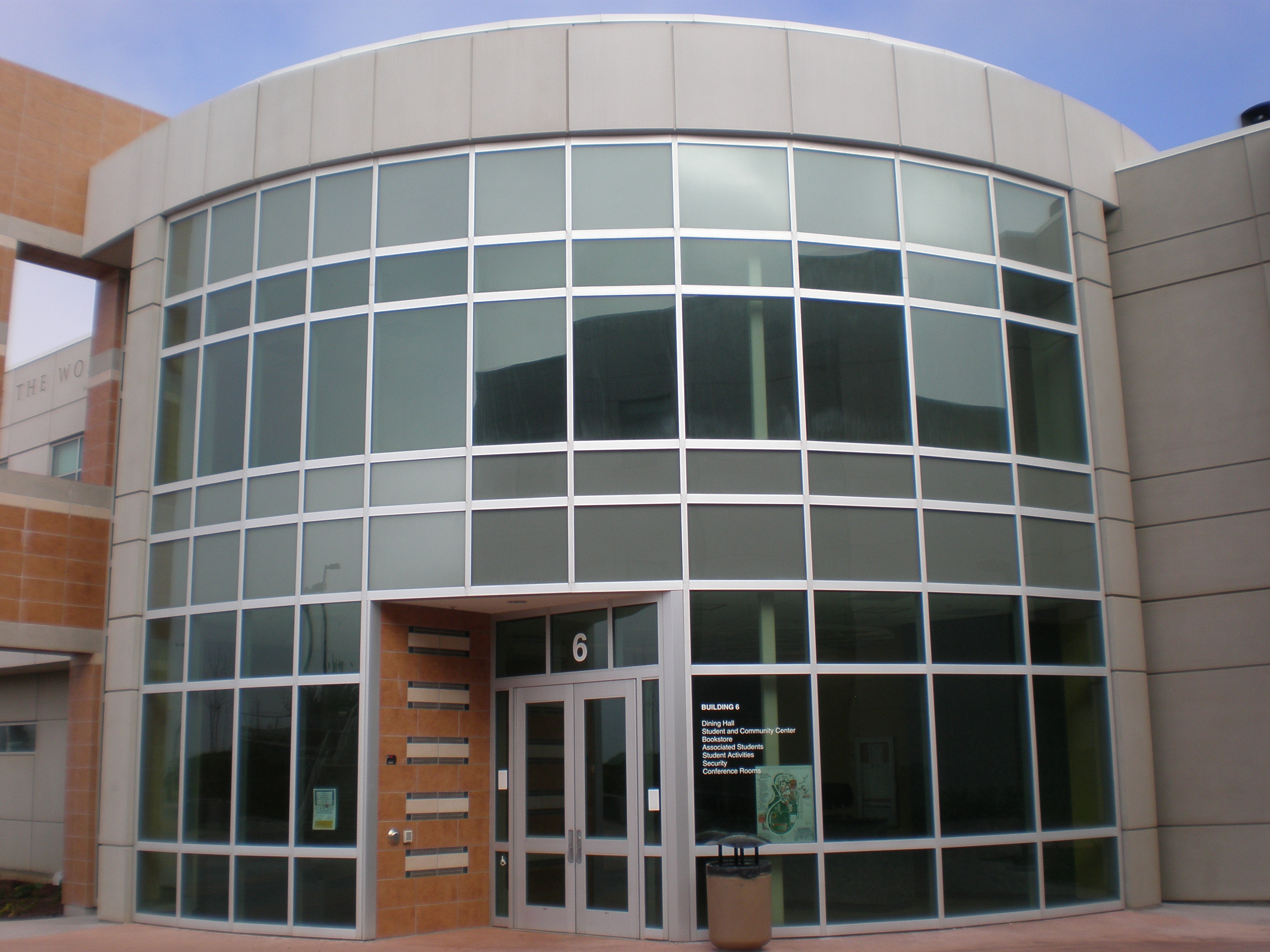 File:Skyline College Building 6 main entrance.JPG ...