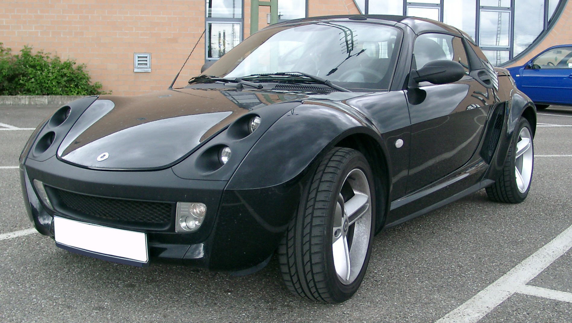 file smart roadster front wikipedia. Black Bedroom Furniture Sets. Home Design Ideas
