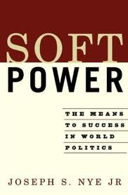 "Joseph Nye's 2004 book describing the concept of ""soft power"""