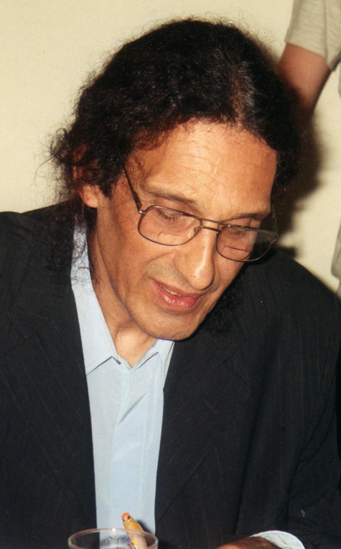 Ricardo Soulé en La Feria del Libro, en Mar del Plata.