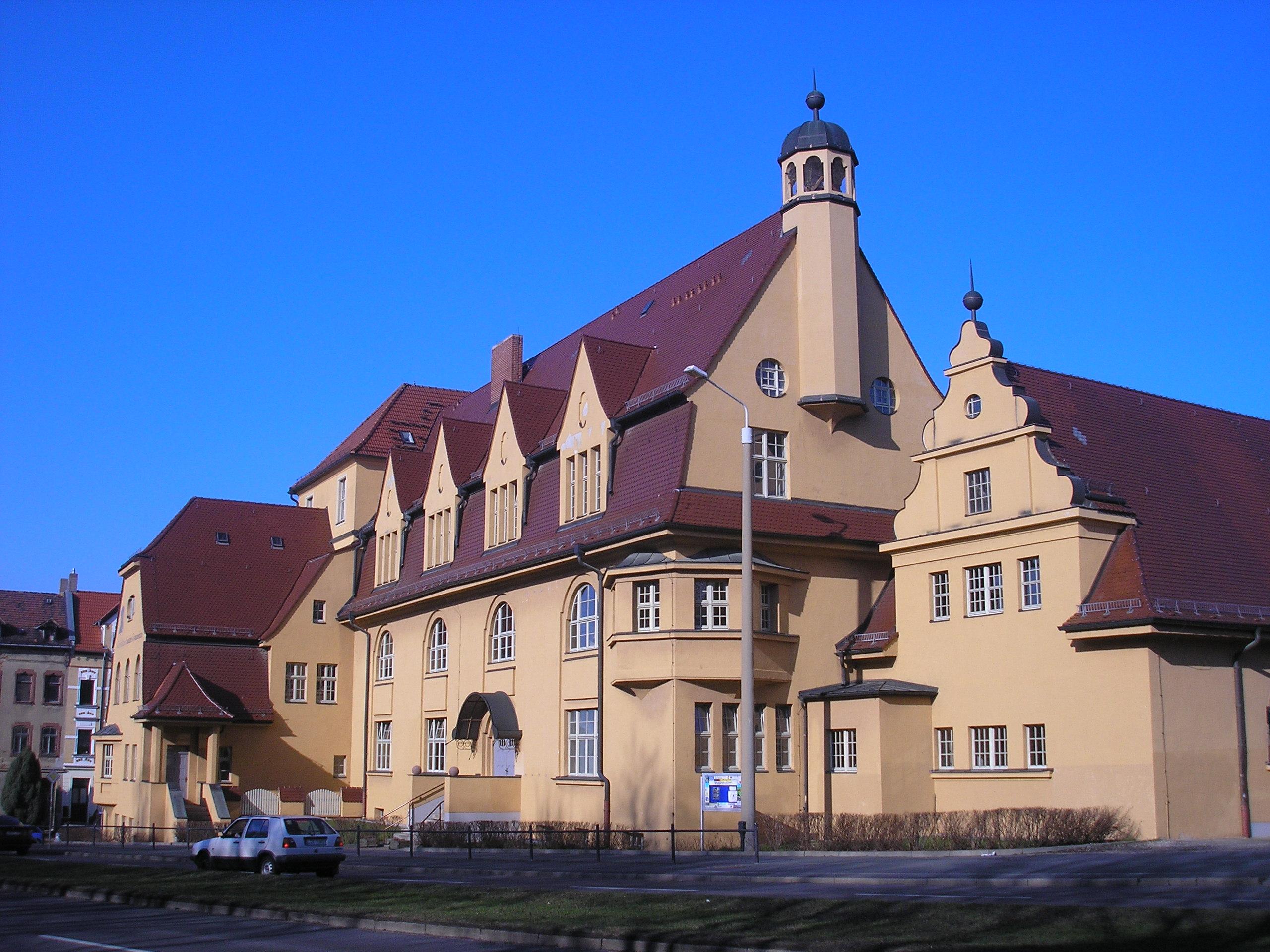 Datei Spalatin Gymnasium Altenburg Jpg Wikipedia