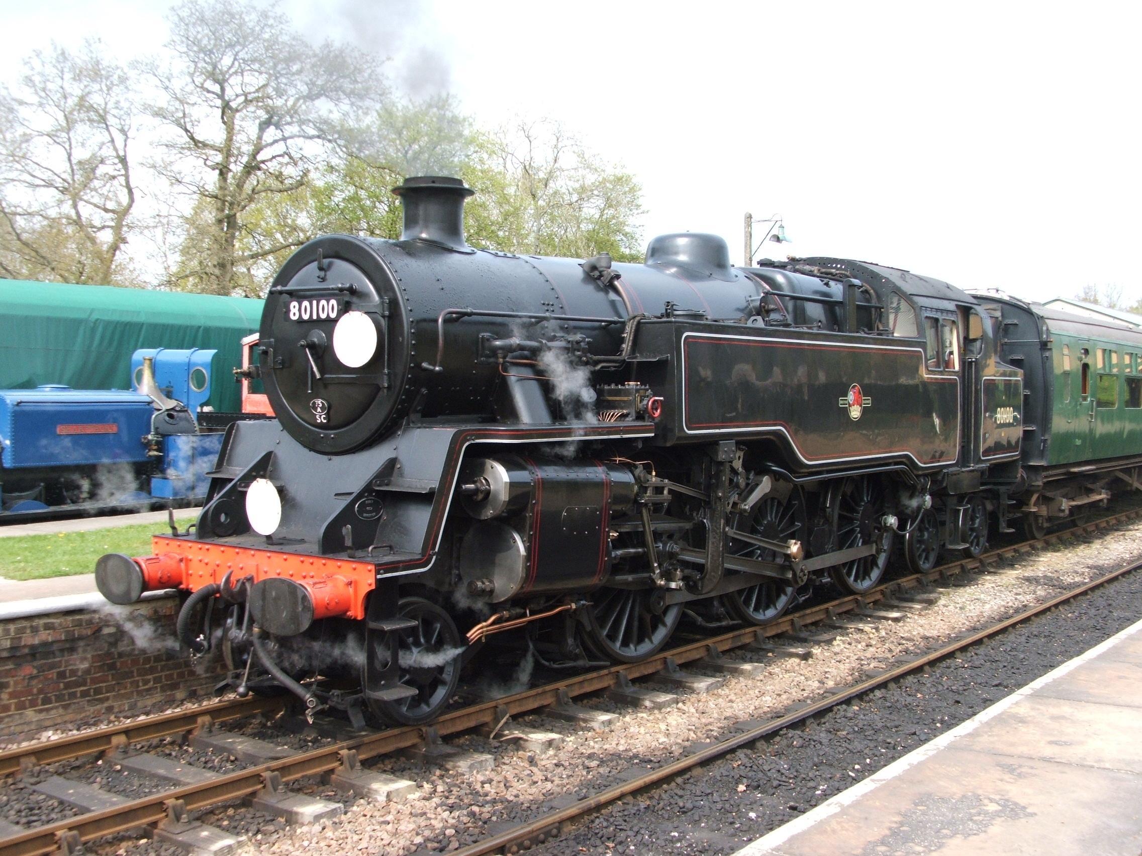 File:Standard 4 Bluebell Railway.jpg - Wikipedia, the free ... Railway