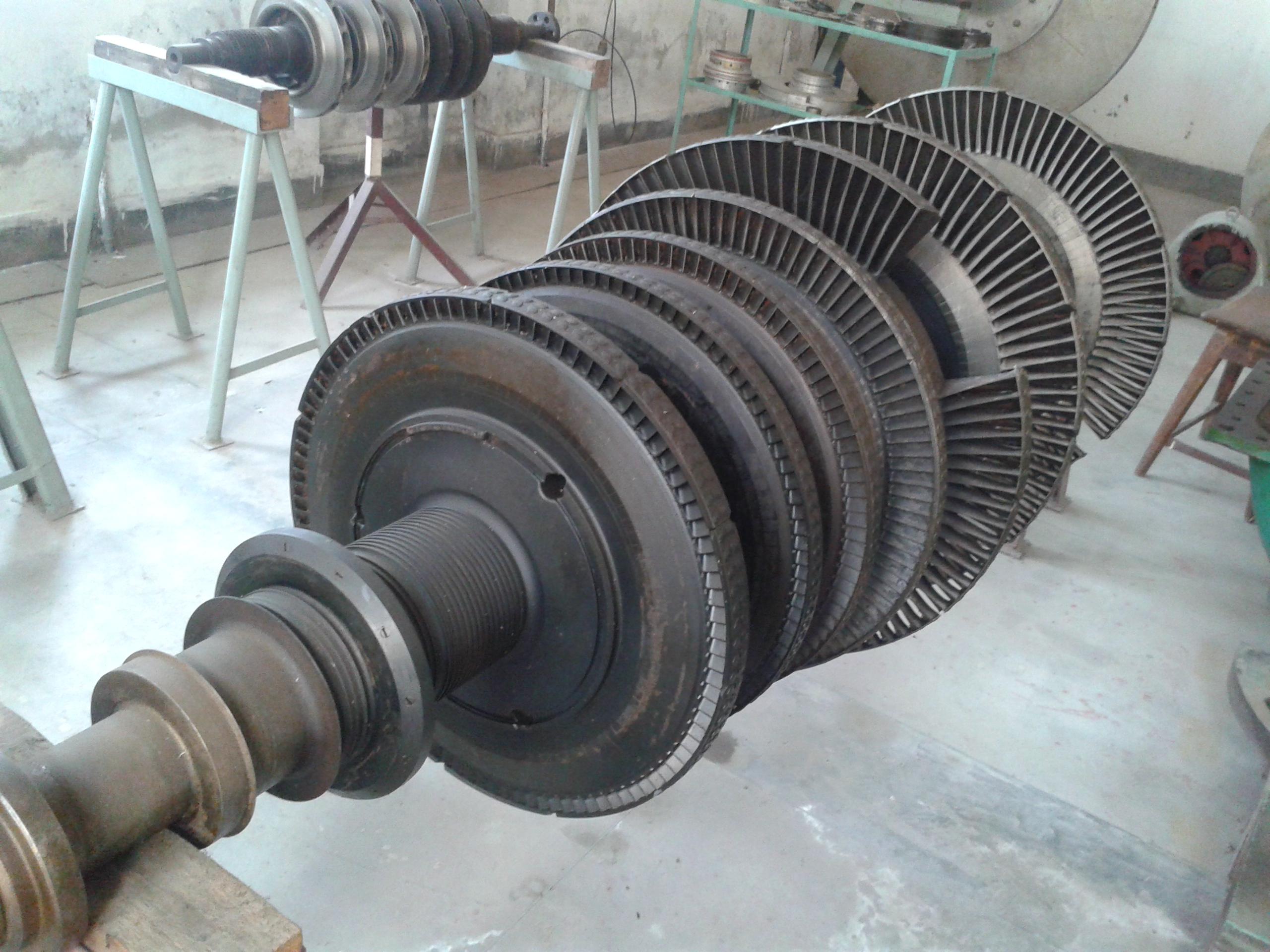 File Steam turbine of Urea Fertilizer Factory Limited Palash