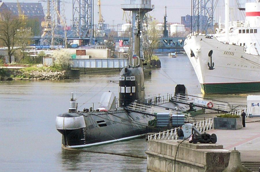 подводная лодка красина