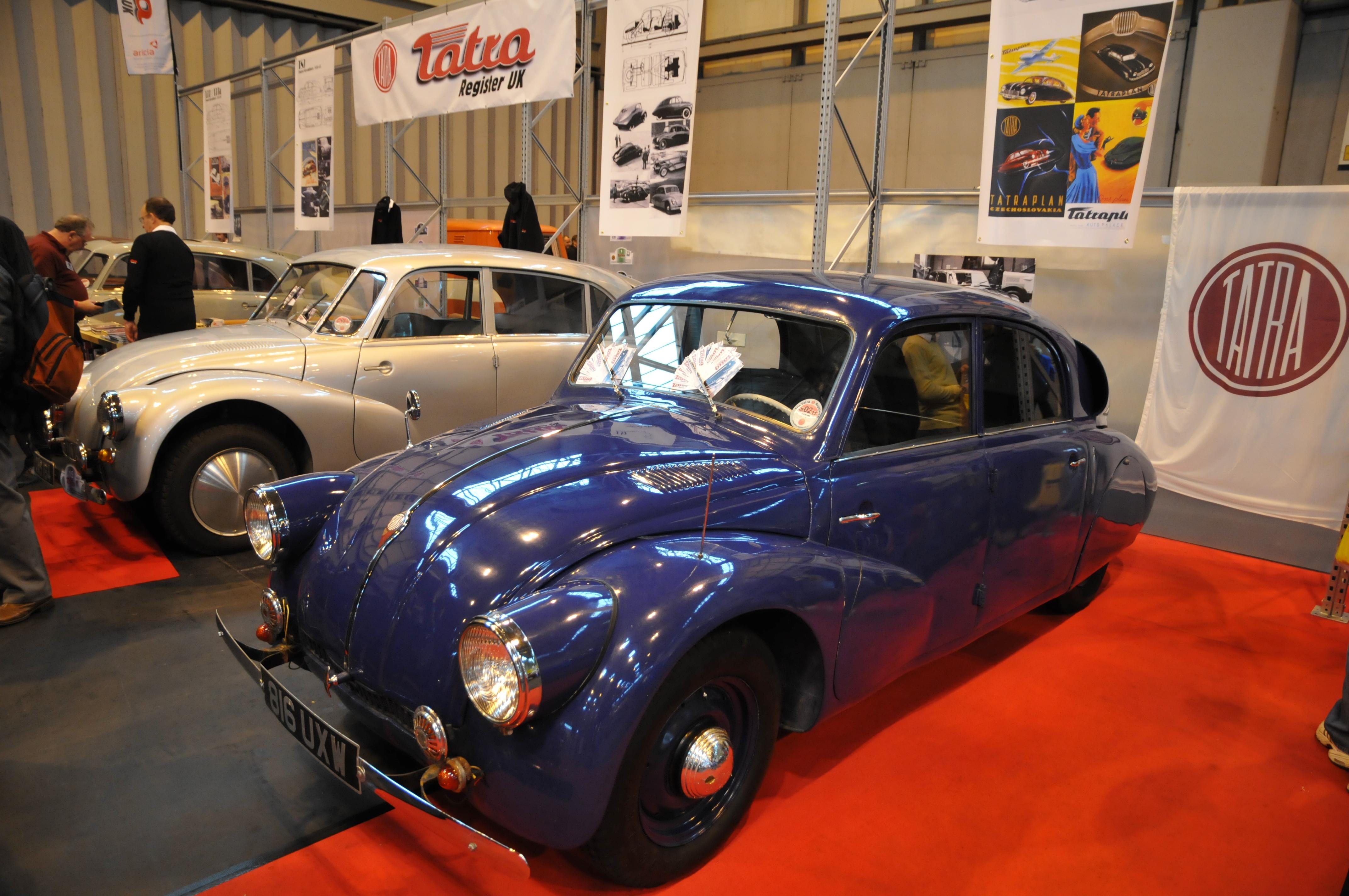 FileTatra At NEC Classic Car Showjpg Wikimedia Commons - Car show jacksonville nc
