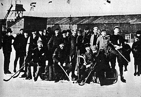 England's bandy team in 1913 - History of Hockey