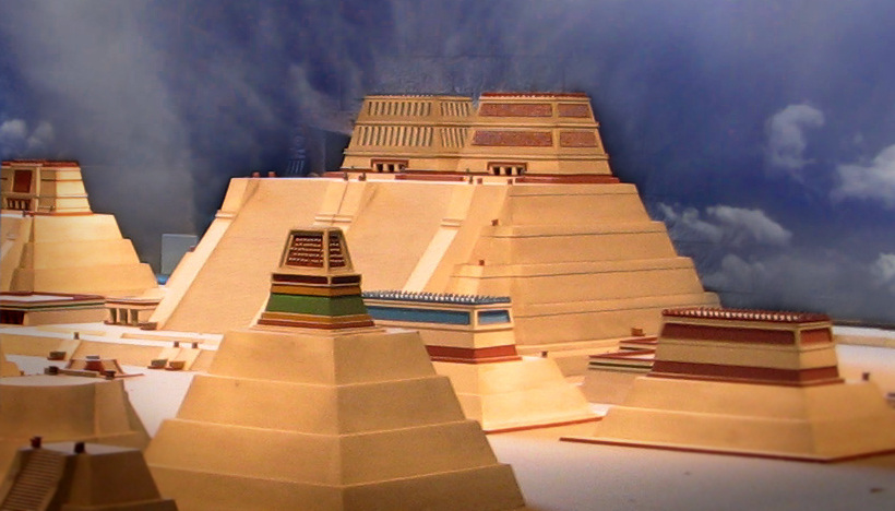Depiction of Templo Mayor