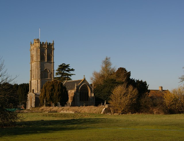 The Church of SS Peter and Paul, Muchelney. (geograph 1645141)