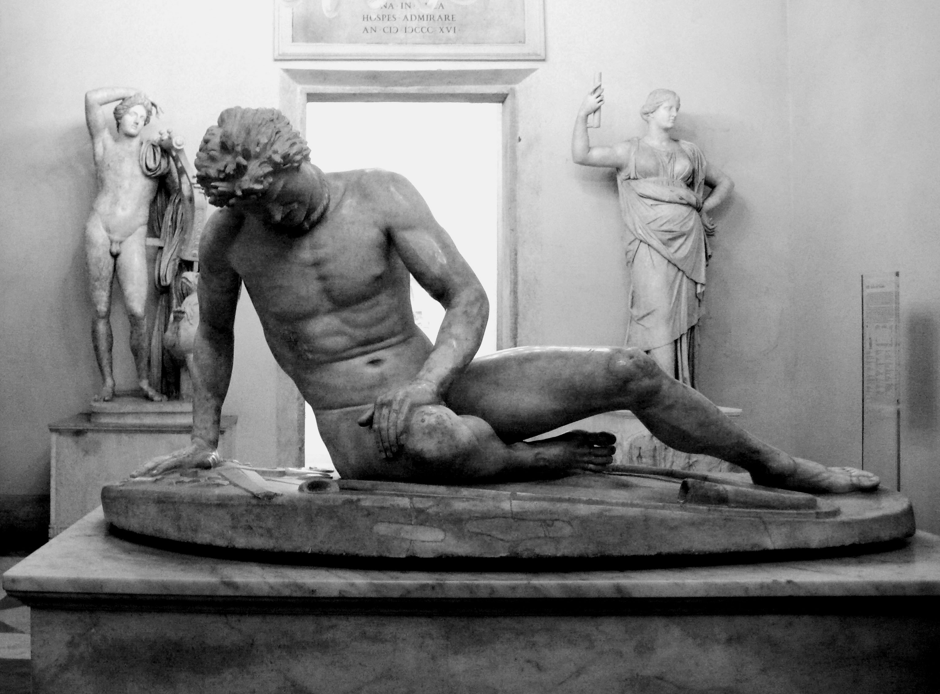 The Dying Gaul - most famous sculptures