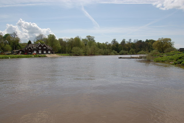 The River Severn at Lower Lode - geograph.org.uk - 786273