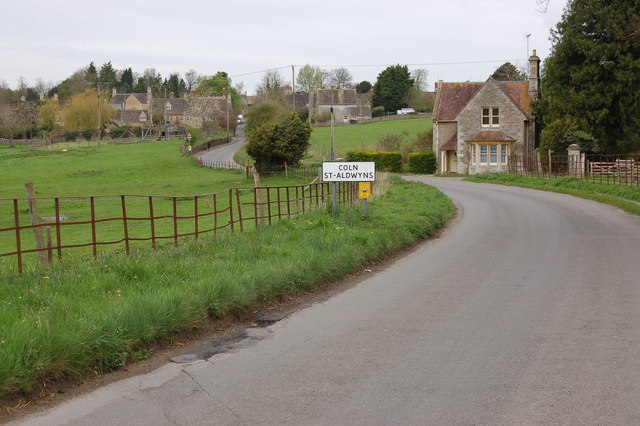 The Road to Coln St Aldwyns - geograph.org.uk - 776802