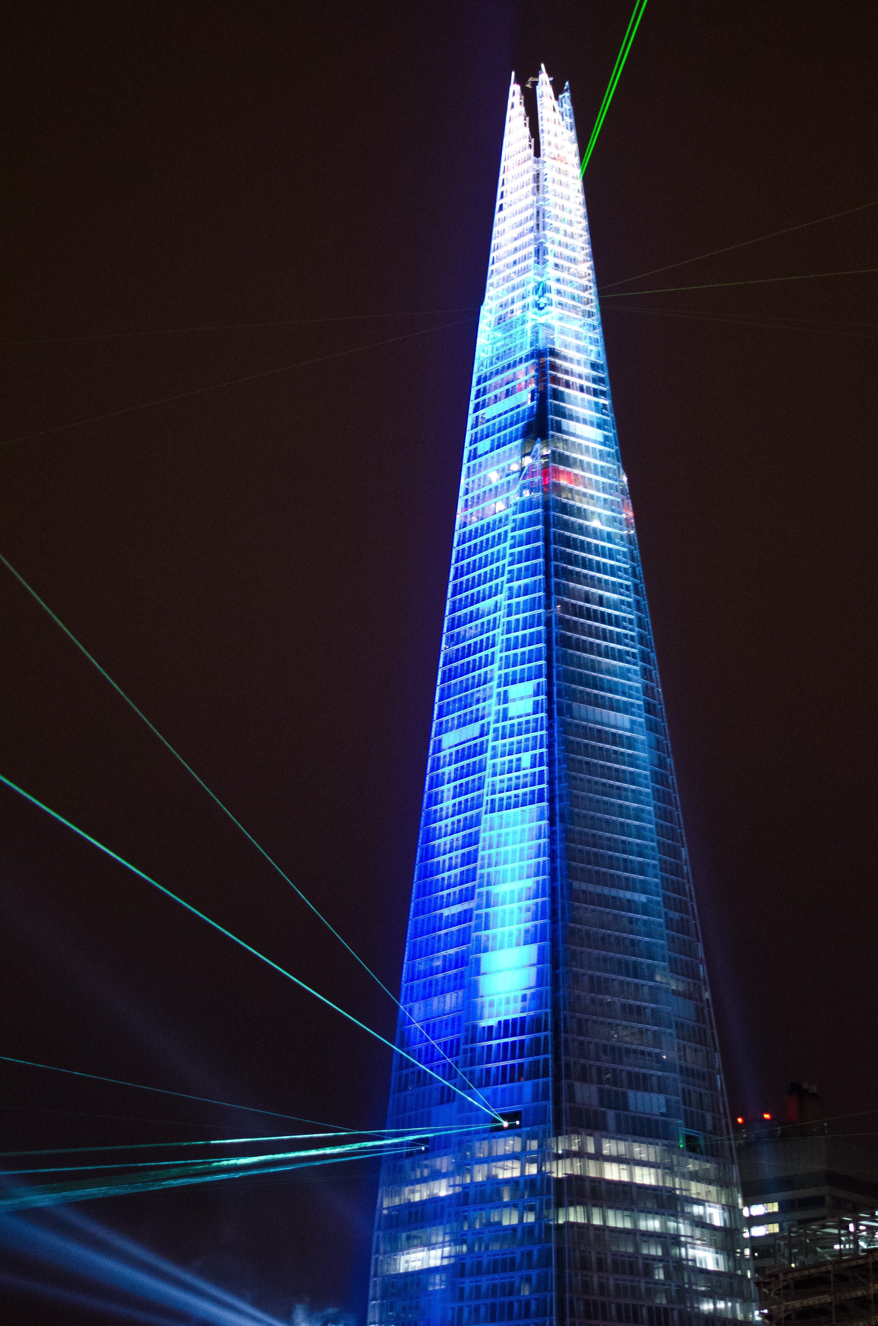 File The Shard On Opening Night Jpg