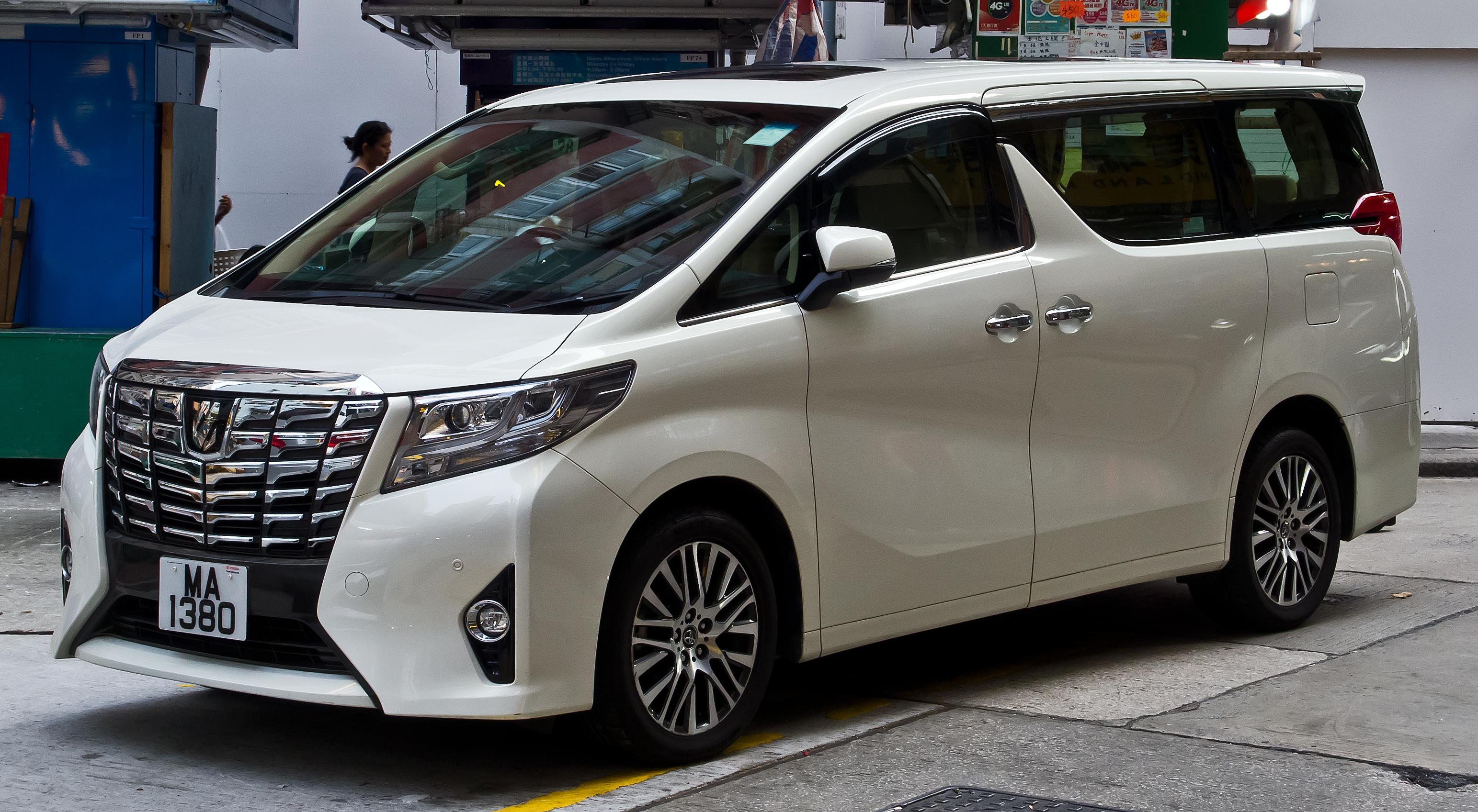 Toyota Alphard Wikiwand