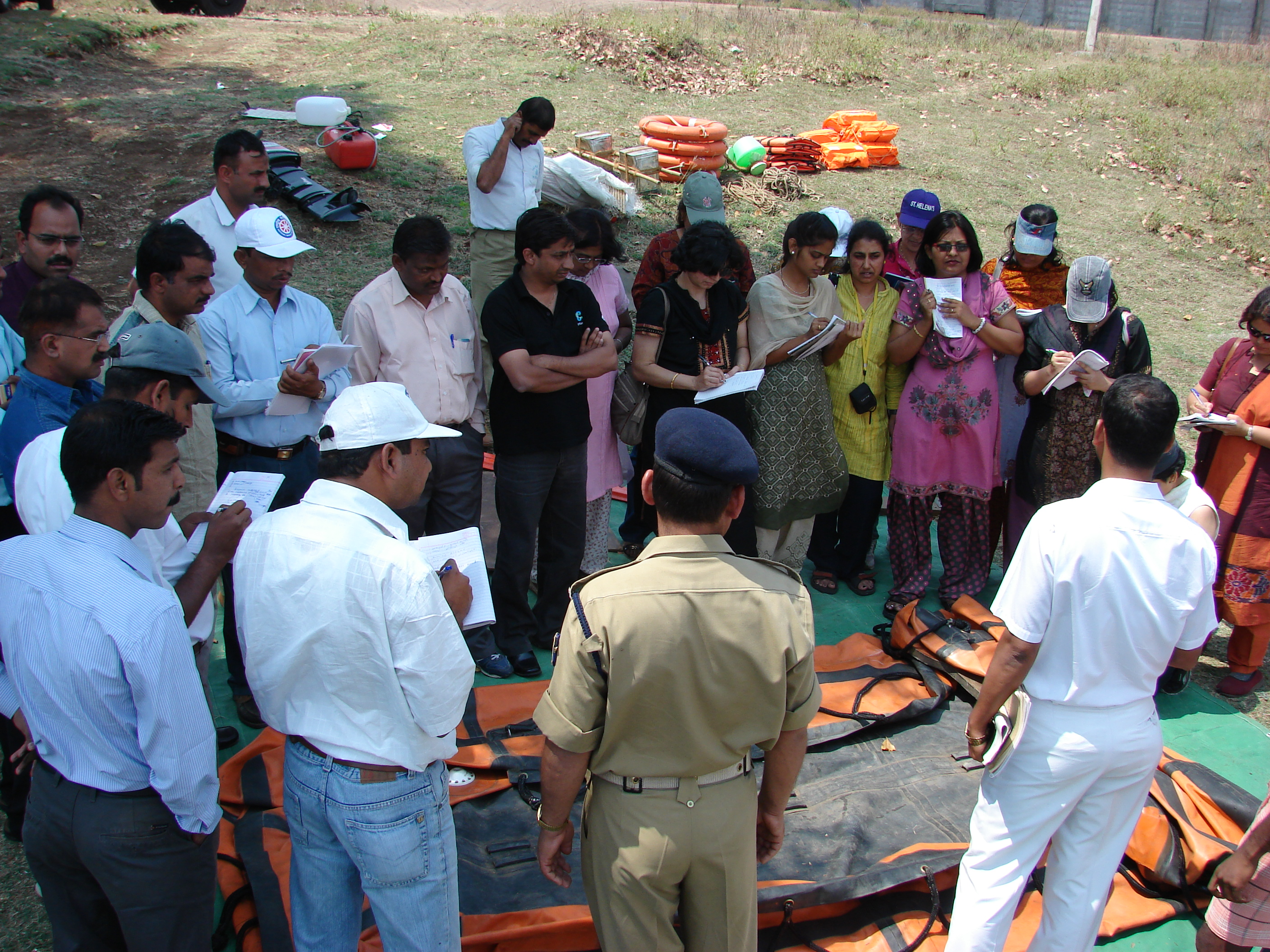 Disaster management training videos