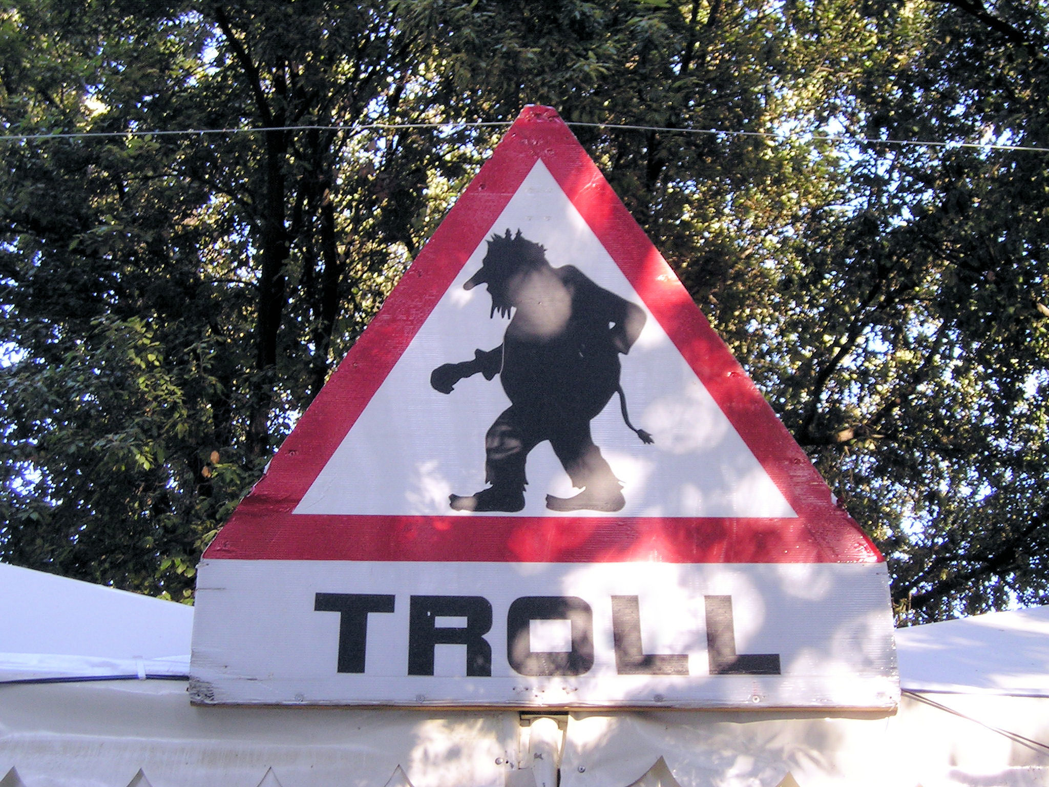 Troll warning!