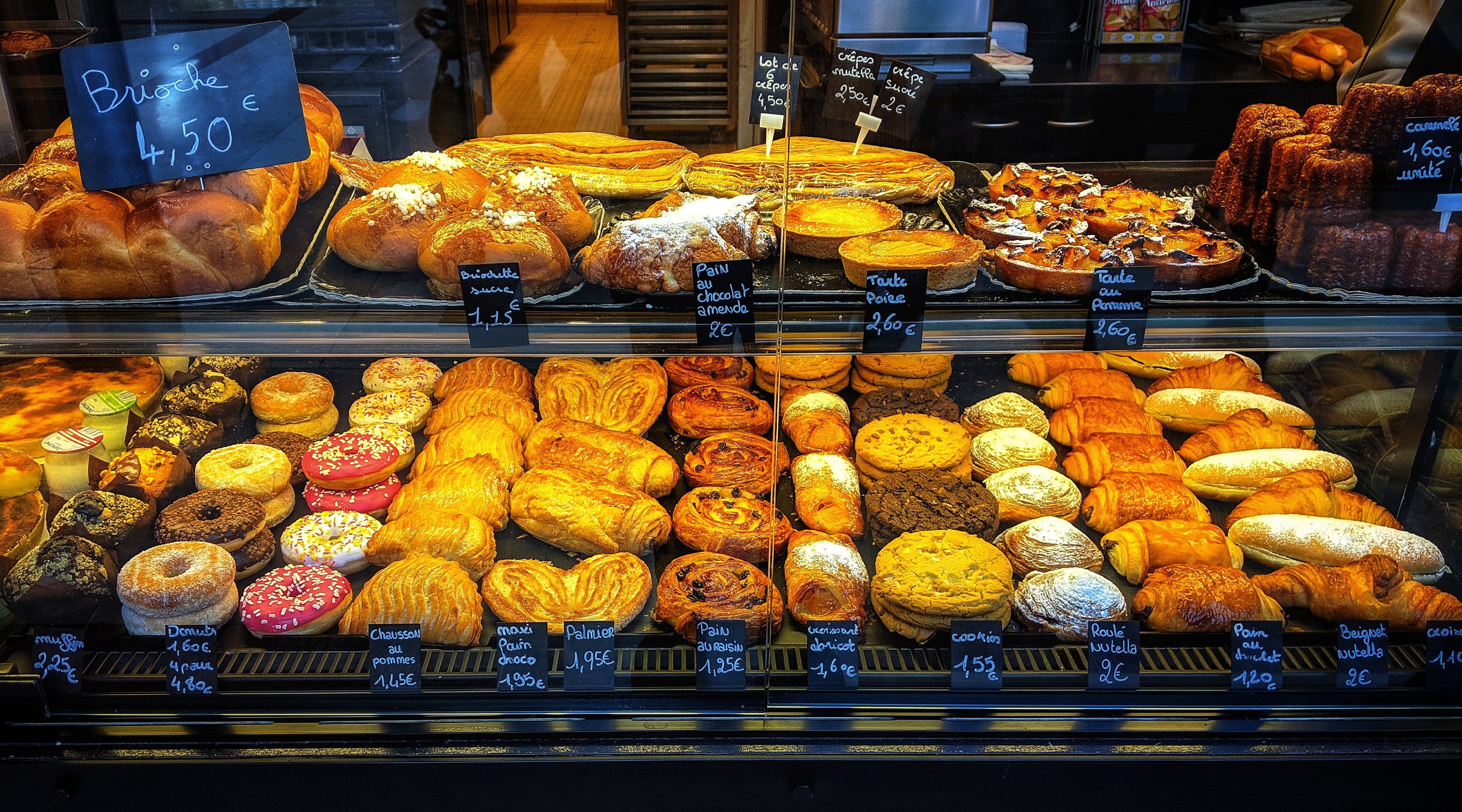 File:Typical French bakery pastries.jpg - Wikimedia Commons