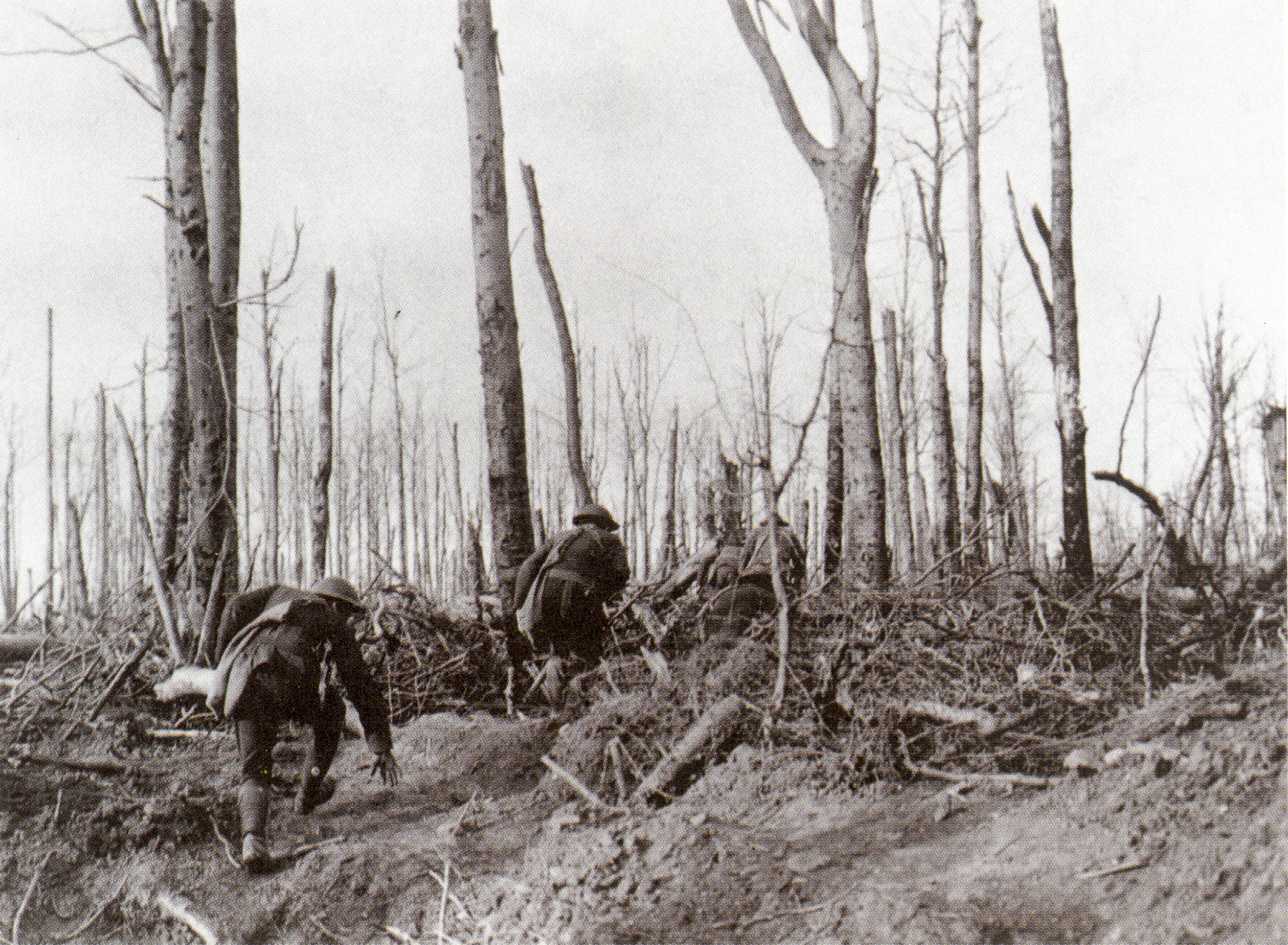 U.S. Marines during the Meuse-Argonne Campaign
