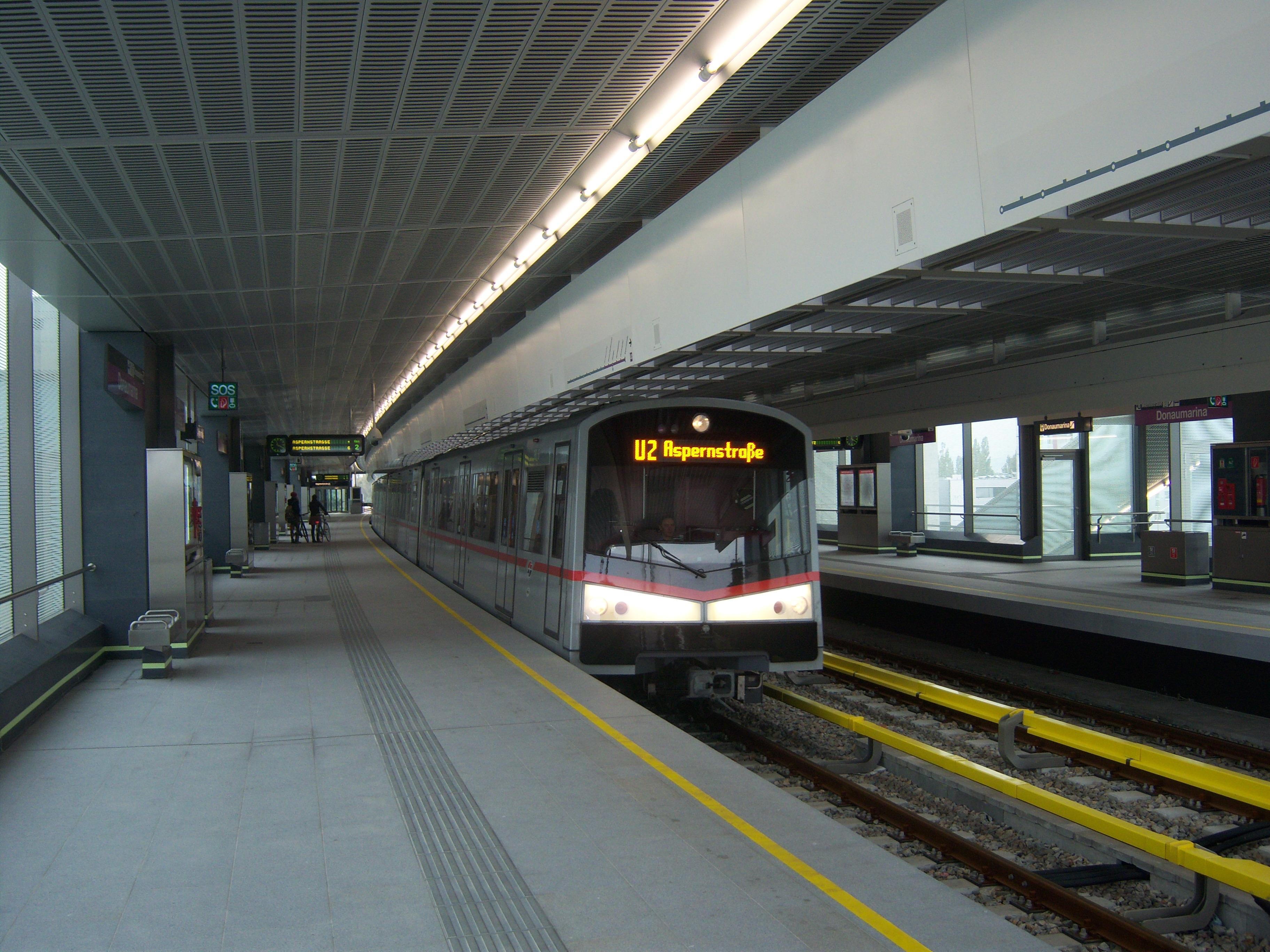 U2 Vienna U Bahn Wikipedia