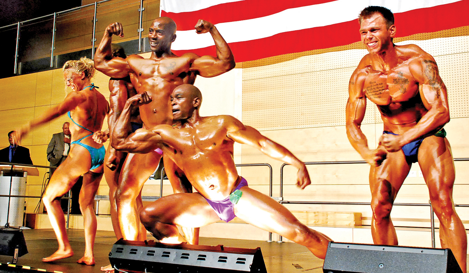Army Body Building Competition