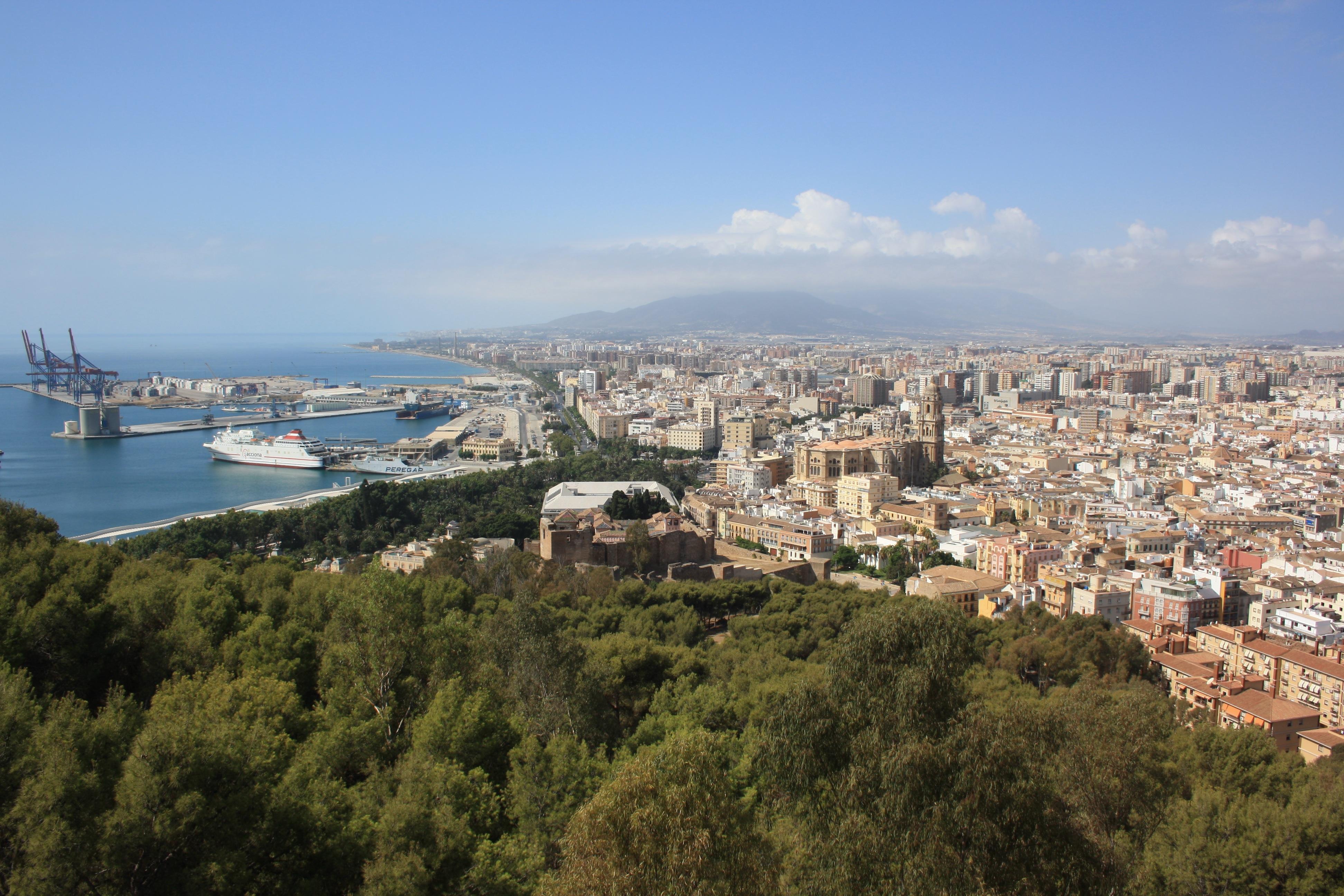 Archivo:View of Malaga 2.jpg - Wikipedia, la enciclopedia libre