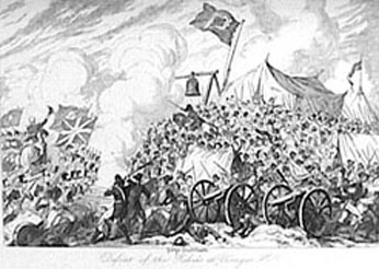 21 June - Defeat of the Rebels at Vinegar Hill