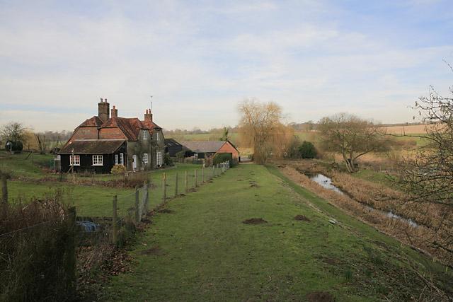 Wayfarer's Walk approaching Cheriton Mill - geograph.org.uk - 329472