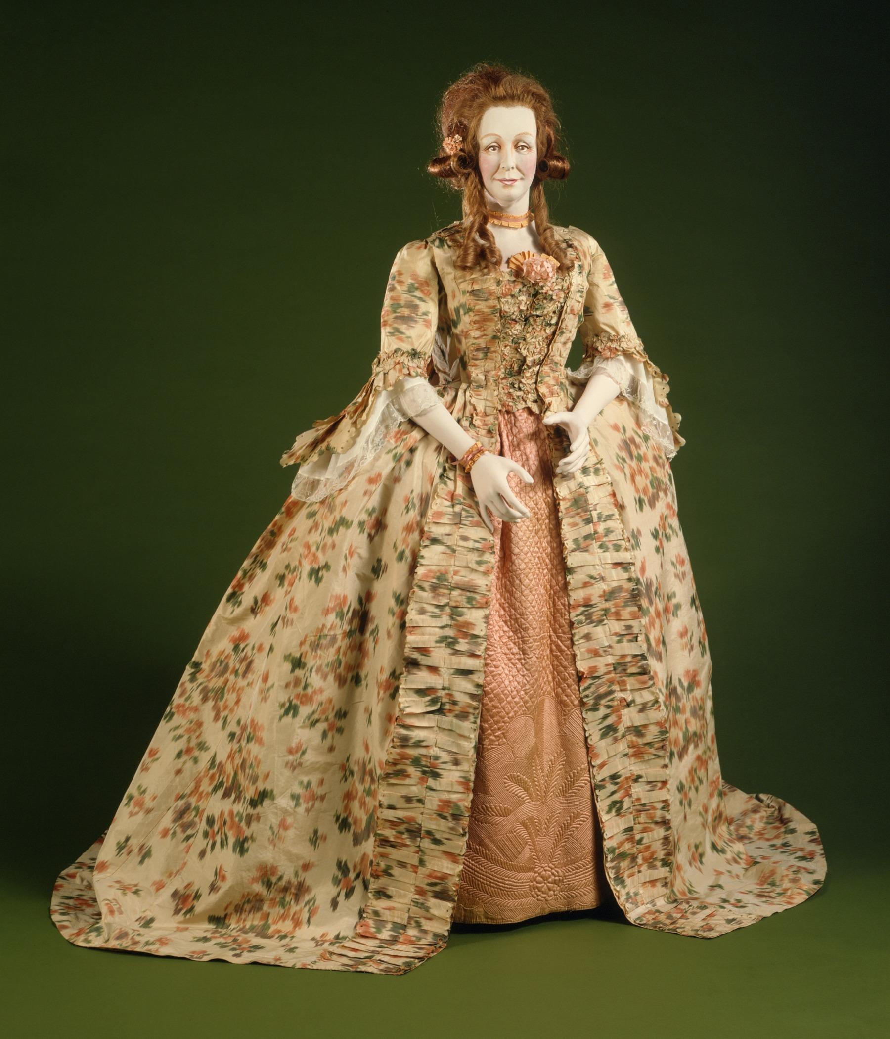 Robe A La Francaise: File:Woman's Robe A La Francaise (Sack Gown) LACMA M.60.36