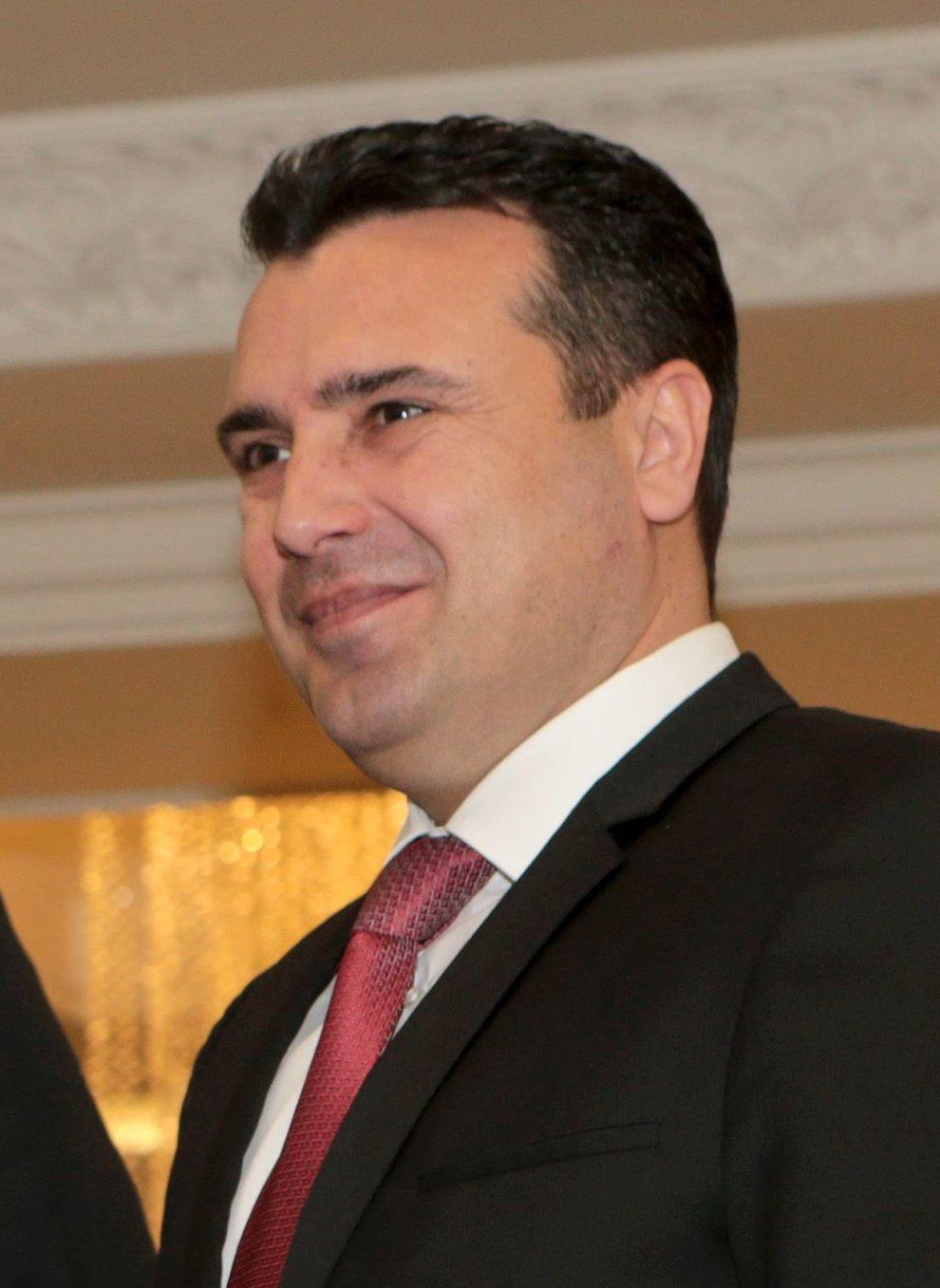 Zoran Zaev Macedonian politician