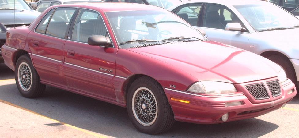 File92 95 Pontiac Grand Am Sedan V6