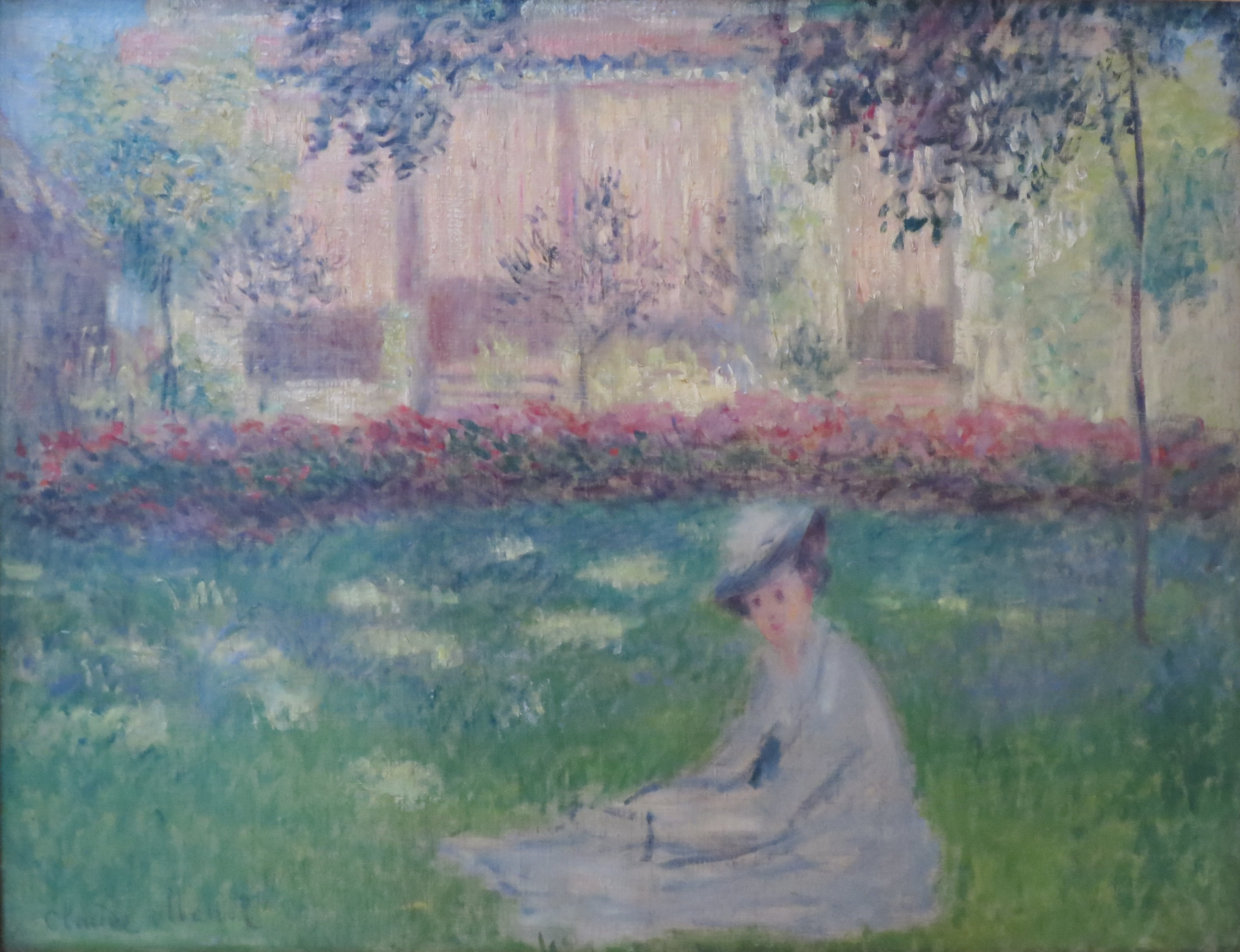 File Woman In A Garden By Claude Monet 1876 Hermitage