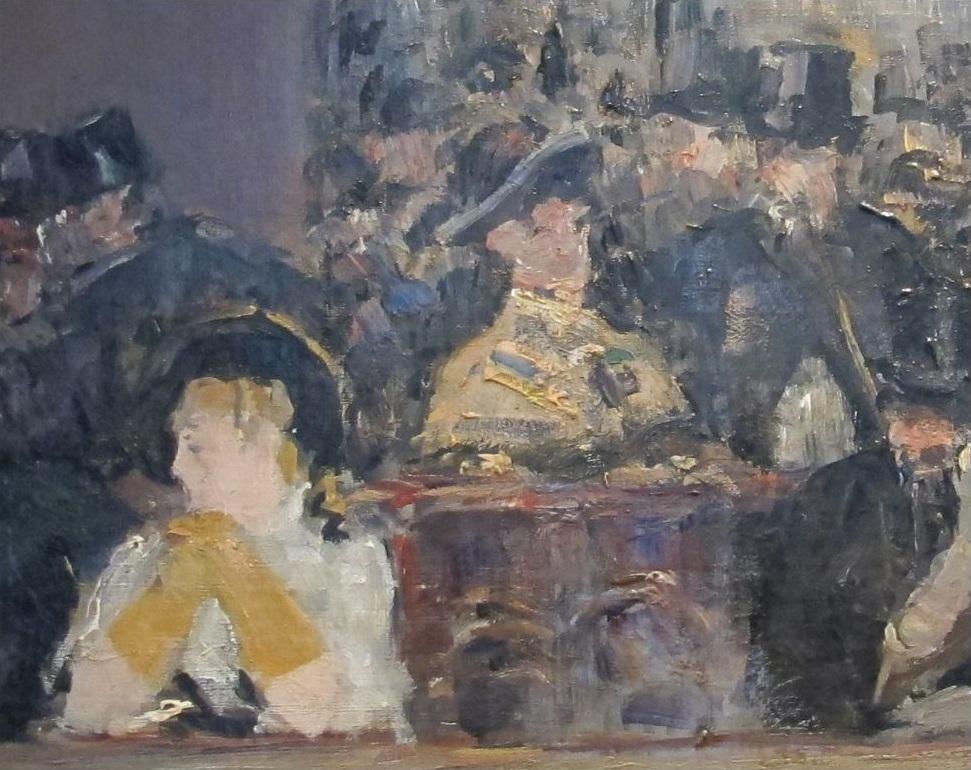 A Bar at the Folies Bergere Edouard Manet Analysis
