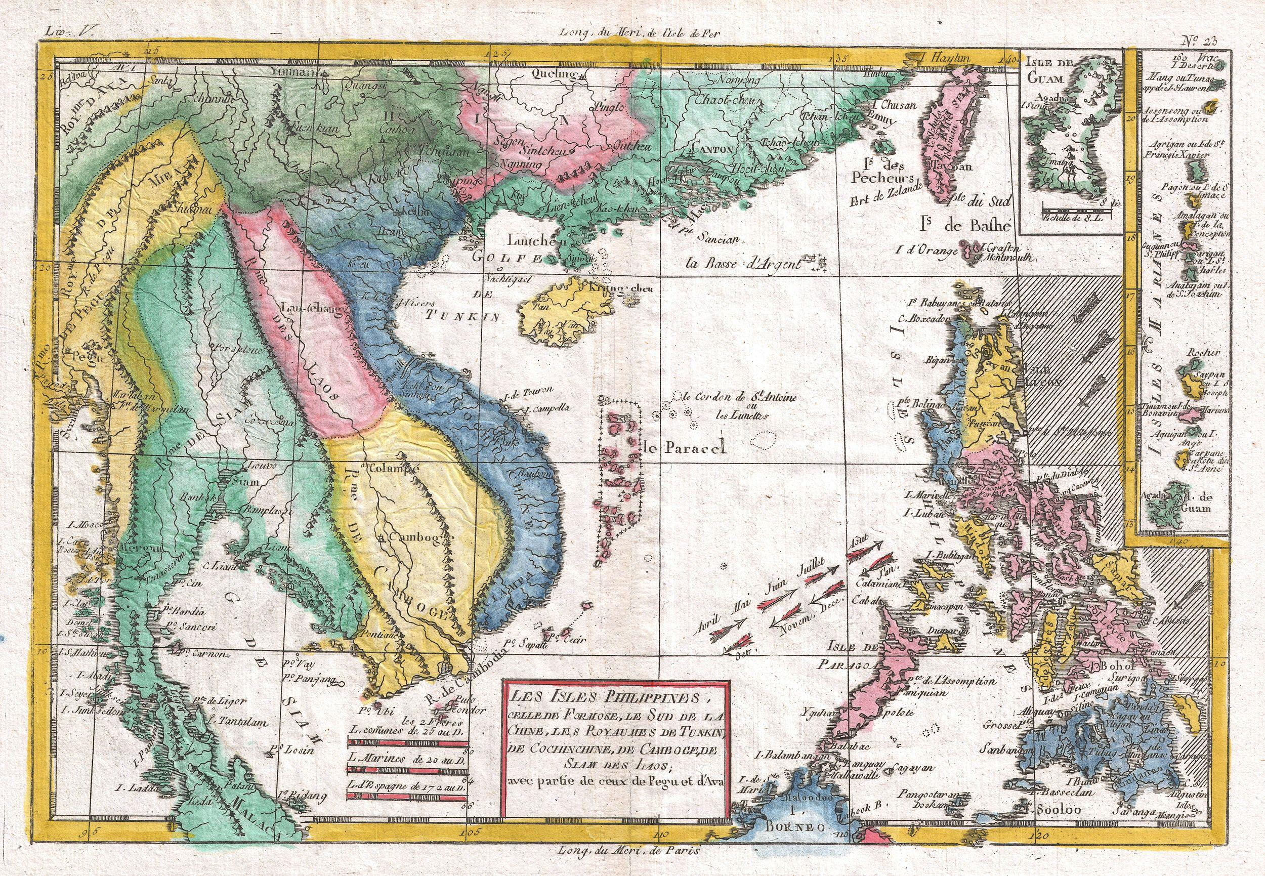 File1780 Raynal and Bonne Map of Southeast Asia and the