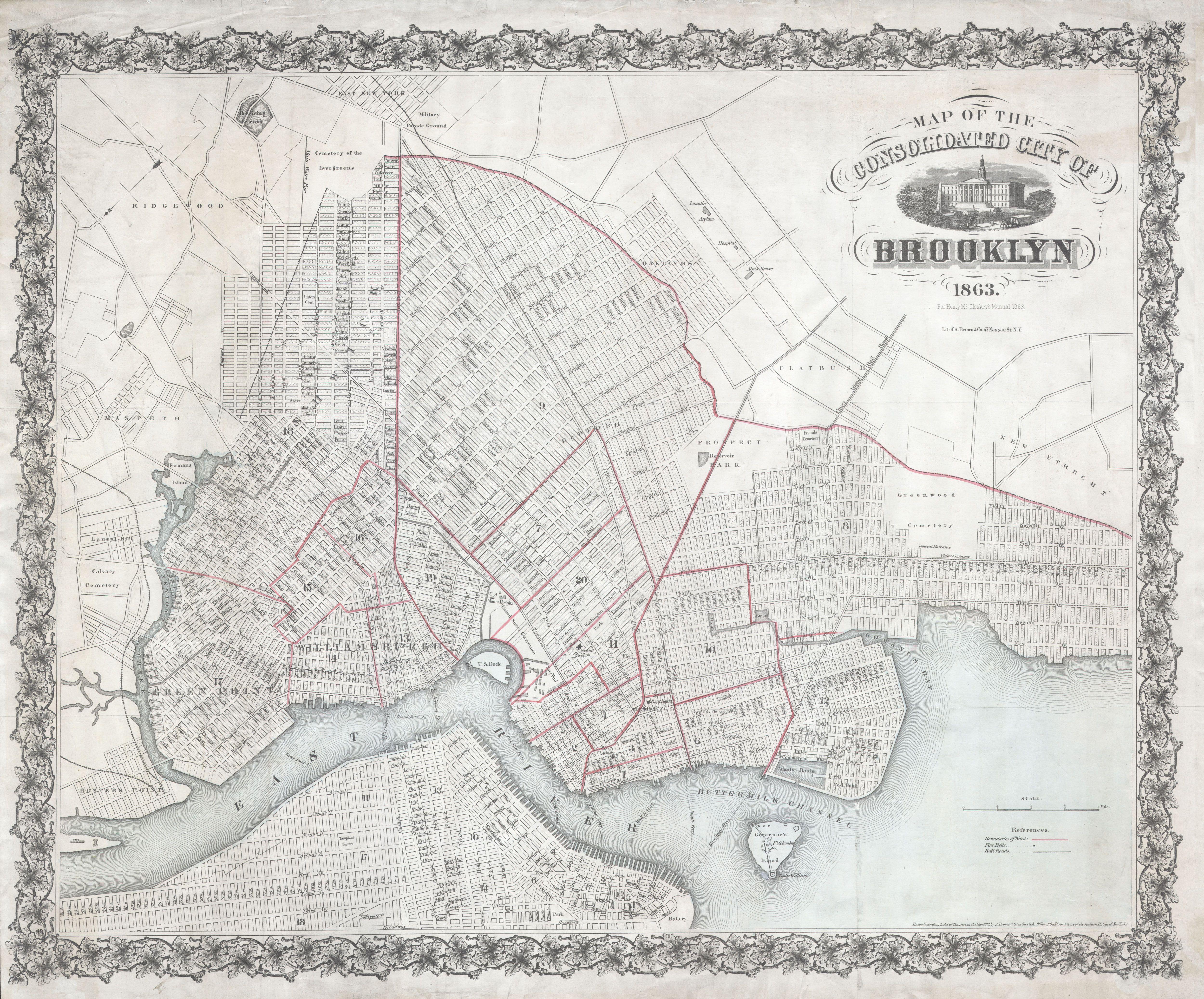 New York Map Restaurants