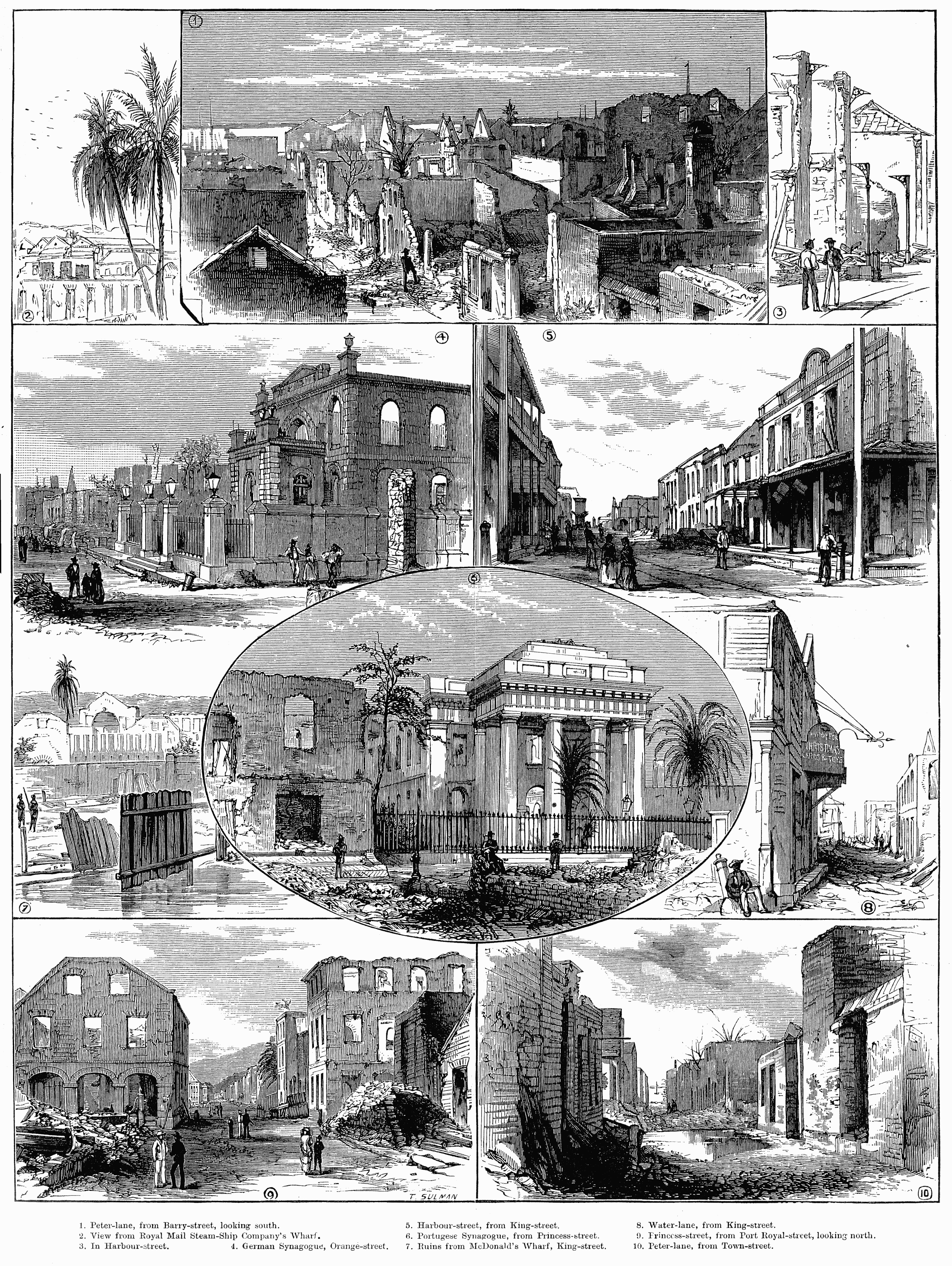 Depiction of Kingston