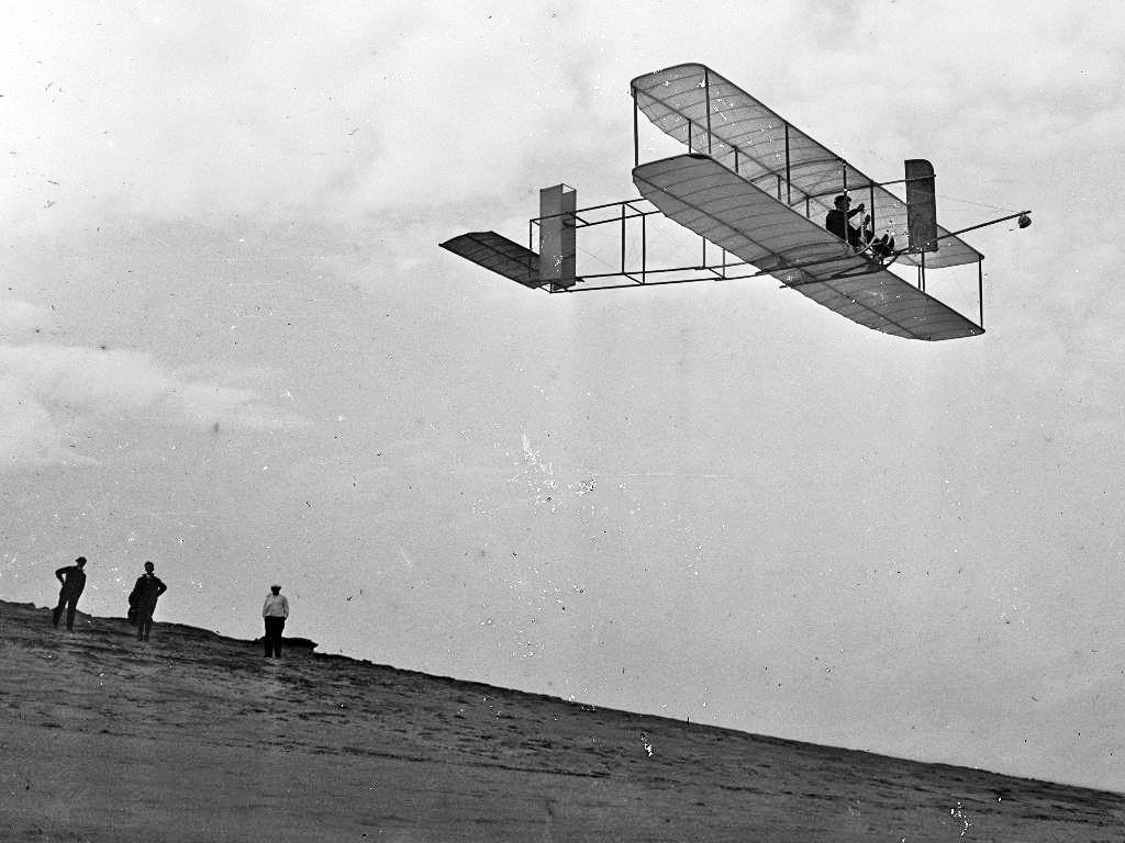 First Wright Brothers Flight pertaining to file:1911 wright glider - wikimedia commons