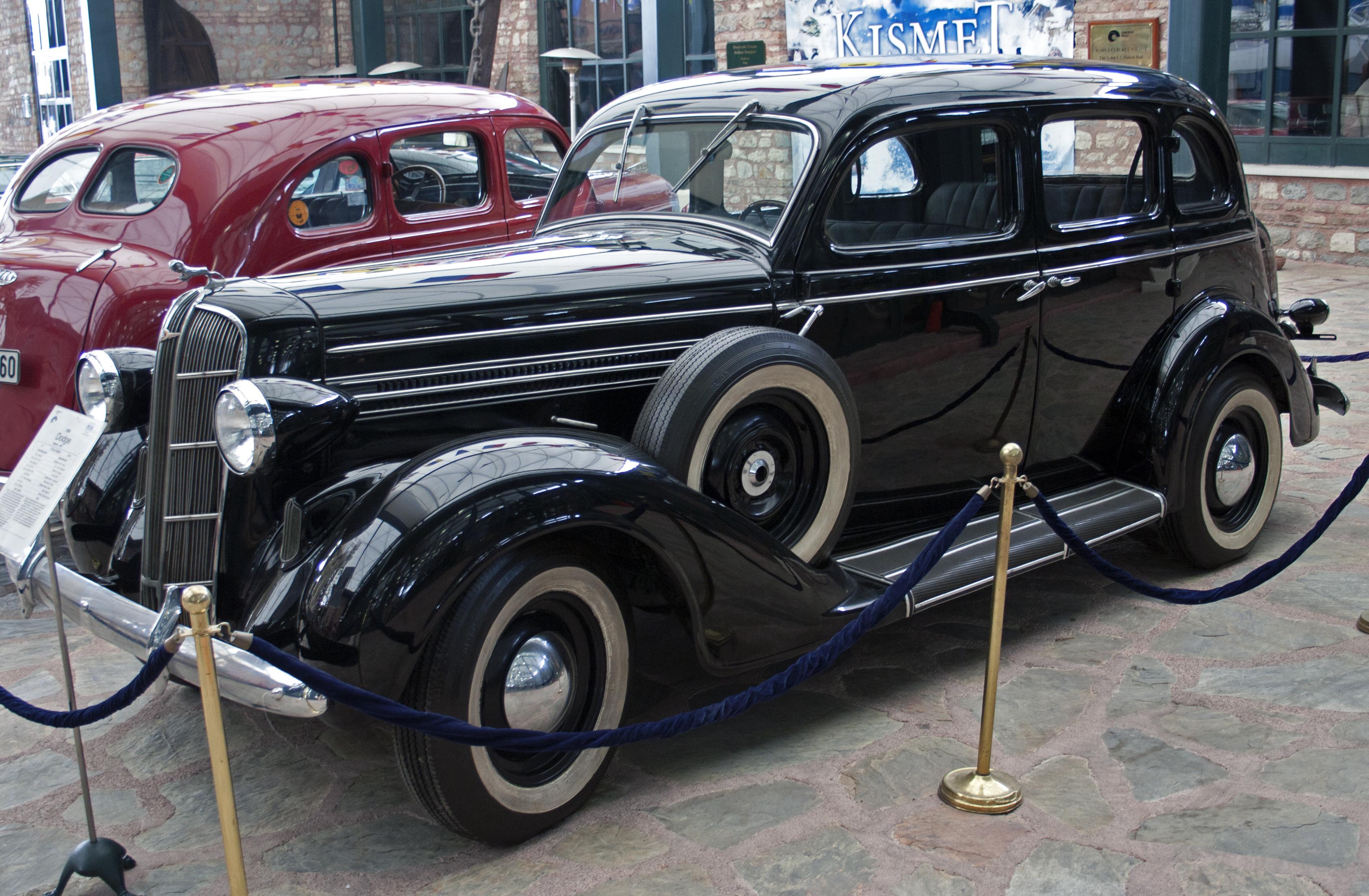 Used Car Loan >> File:1936 Dodge Six Touring Sedan Istanbul.jpg - Wikimedia ...