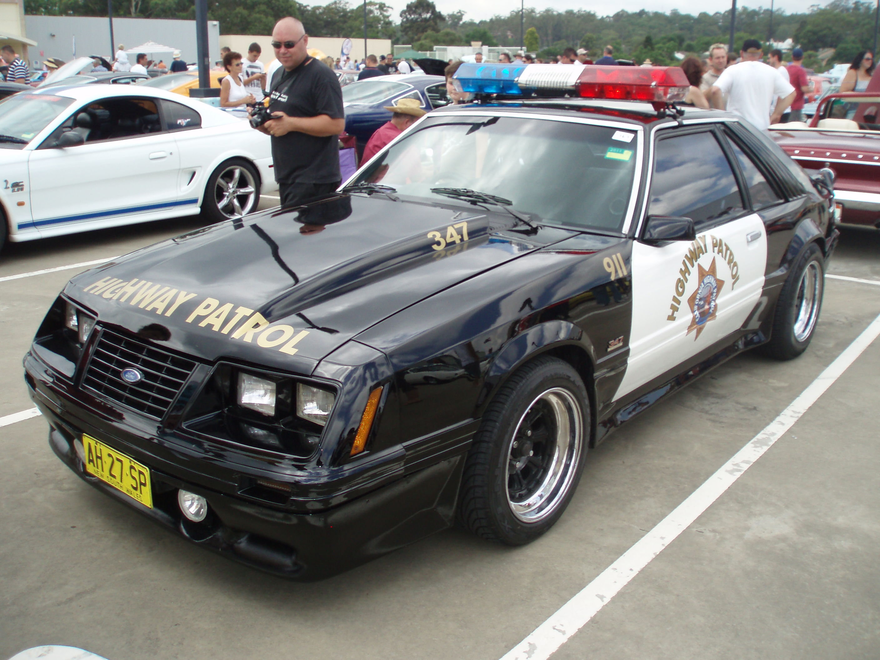 File 1983 Ford Mustang Police Interceptor Coupe 5409770221 Jpg