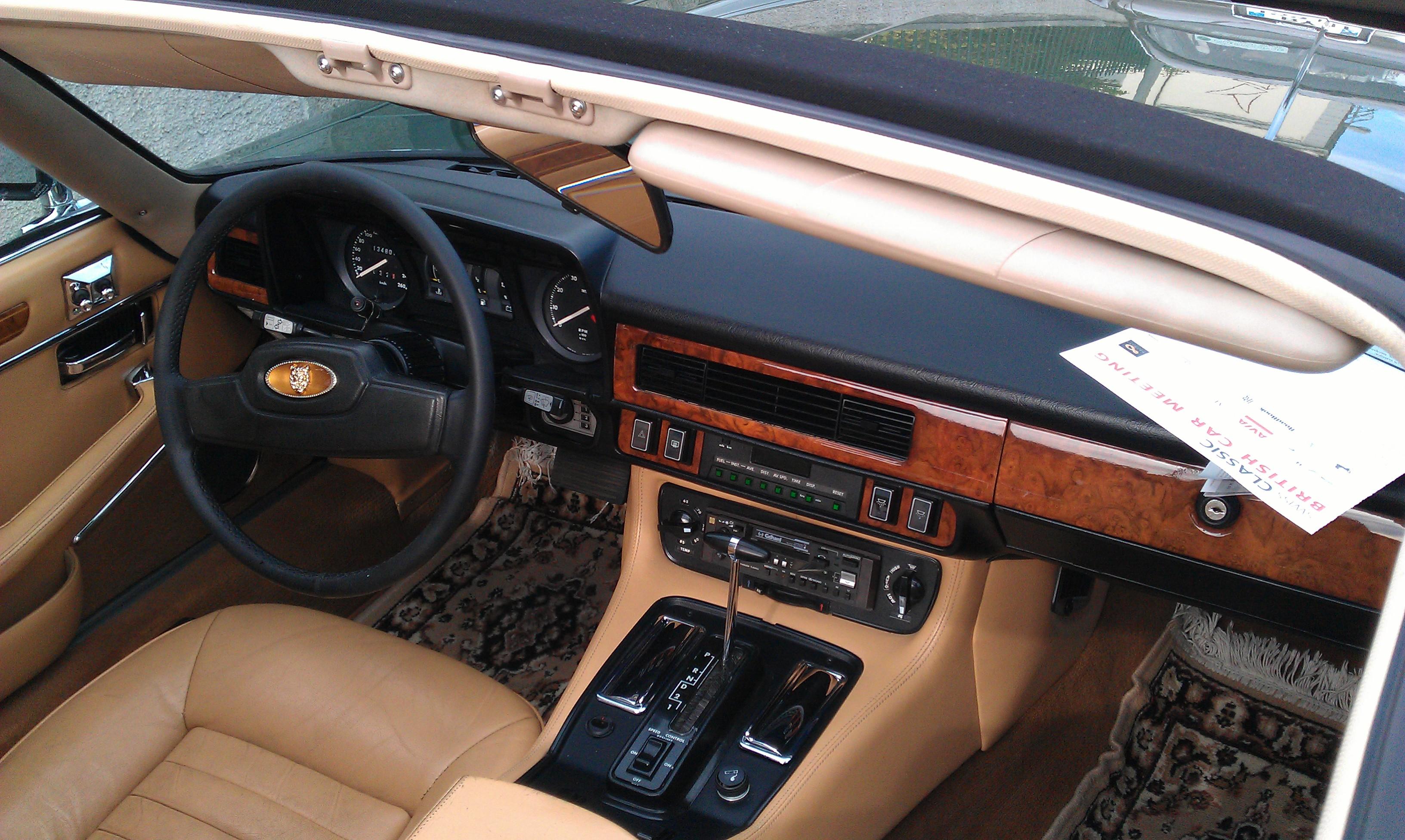 File 1985 Jaguar Xj Sc 5 3 V12 In Morges 2012 Interior