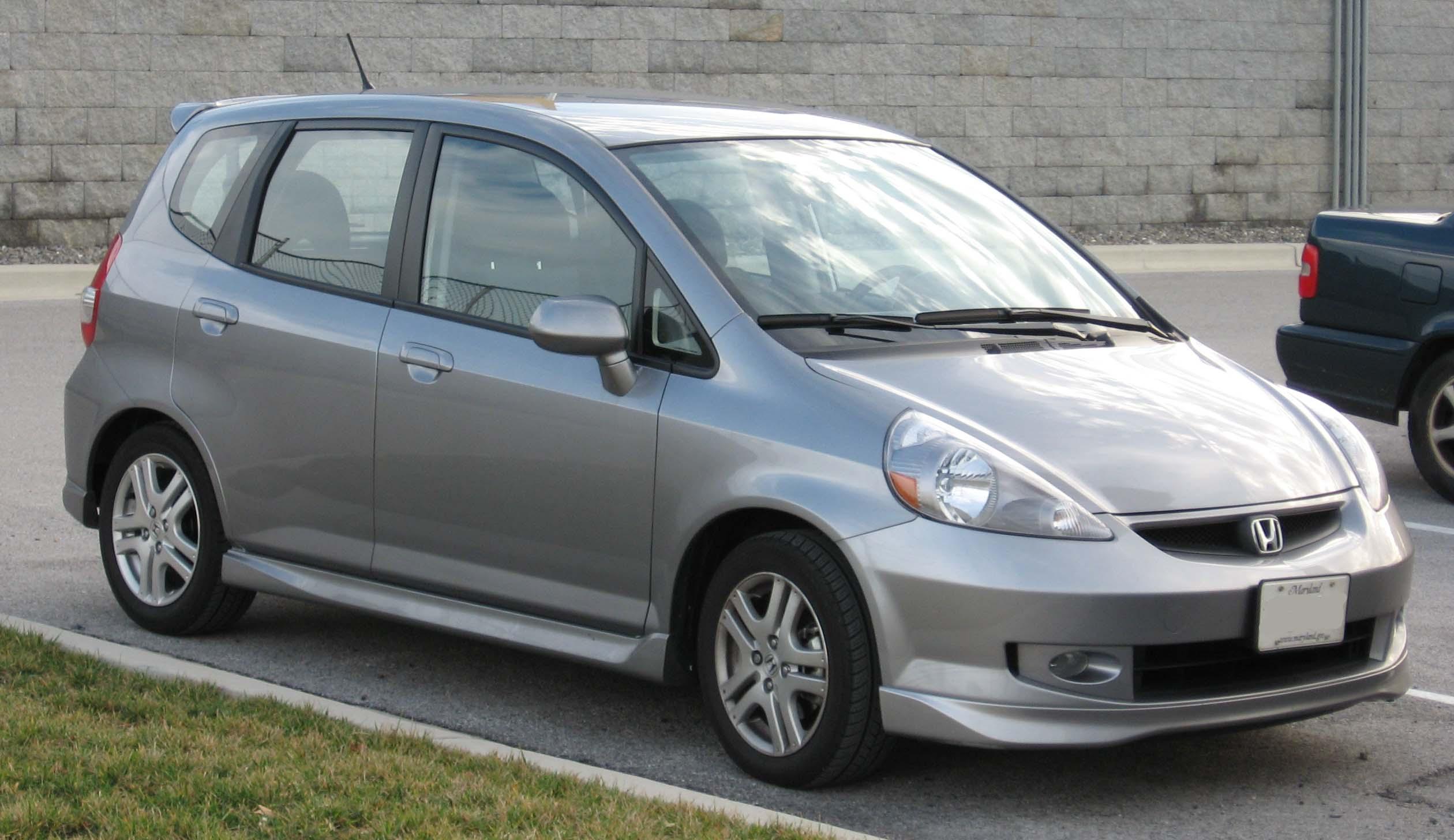 File 2007 Honda Fit Sport Jpg Wikipedia
